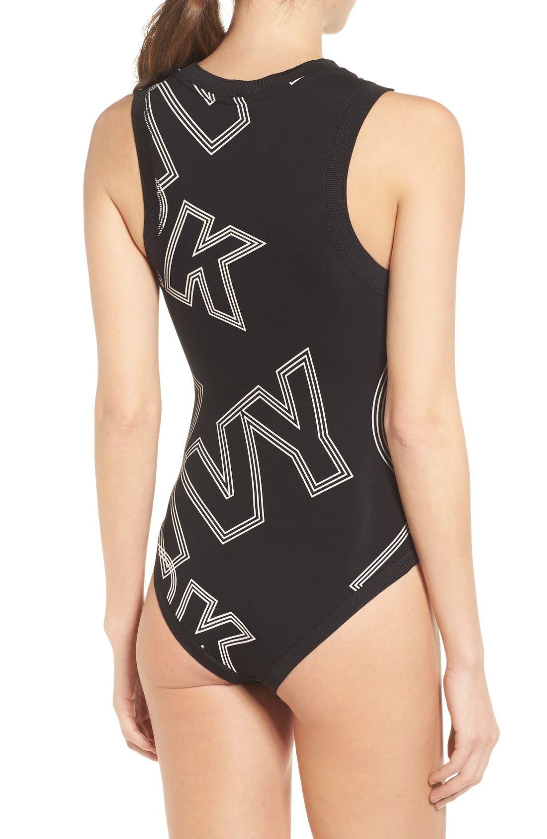 Alternate Image 2  - IVY PARK® Broken Logo Bodysuit