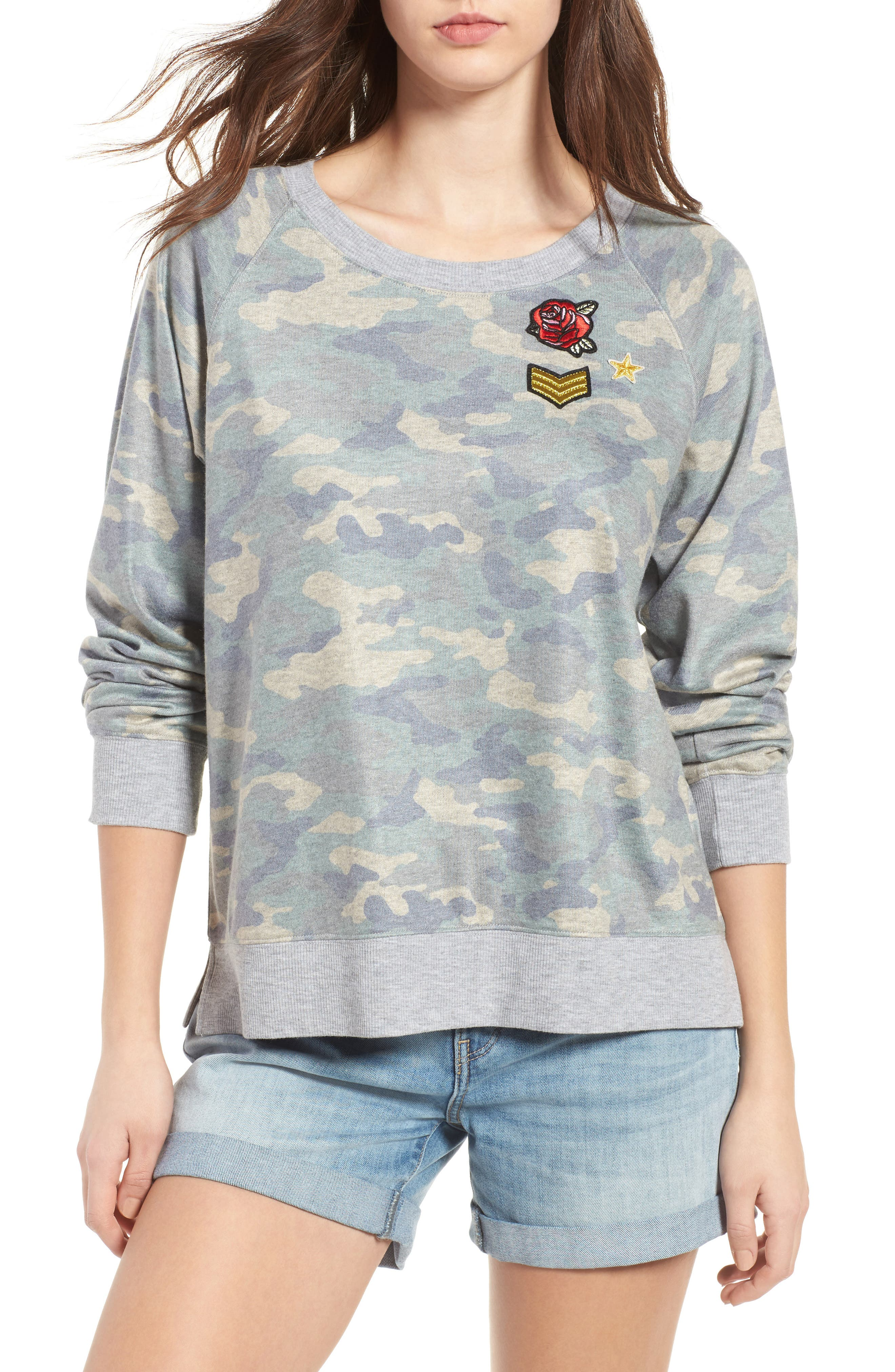 TREASURE & BOND Camo Sweatshirt