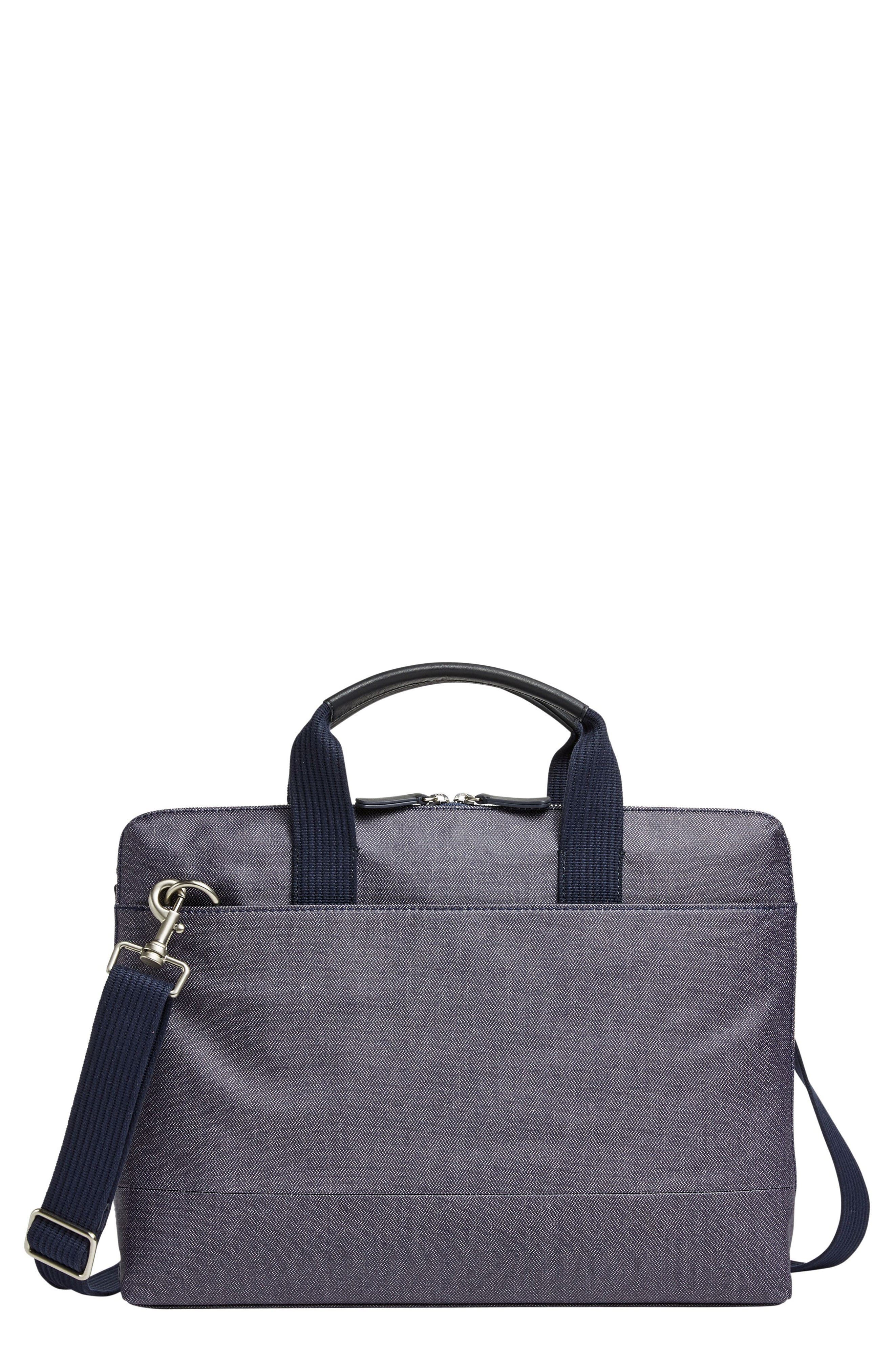 Skagen Peder Coated Twill Slim Briefcase