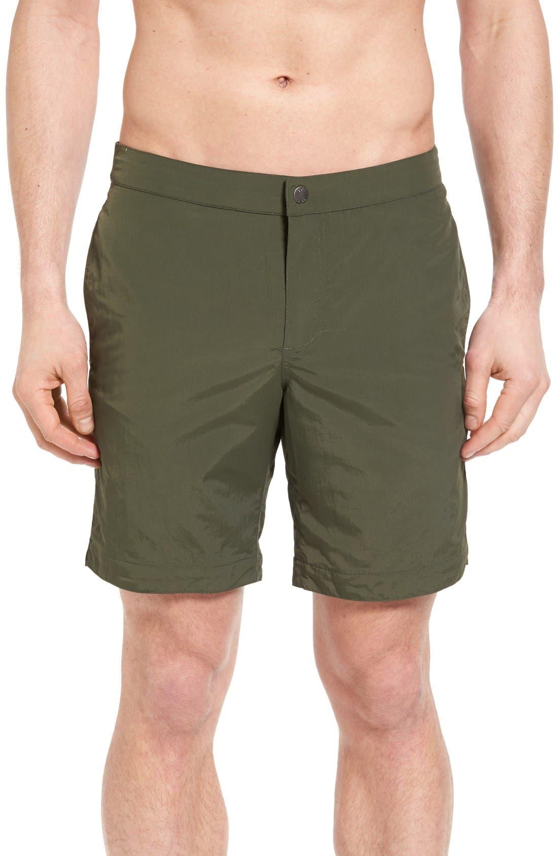 boto 'Aruba - Island' Tailored Fit 8.5 Inch Board Shorts