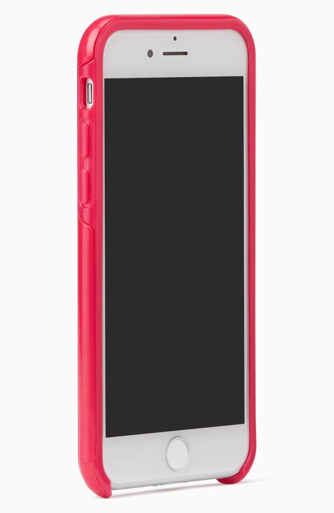 Alternate Image 2  - kate spade new york la vie en rose iPhone 7 & 7 Plus case