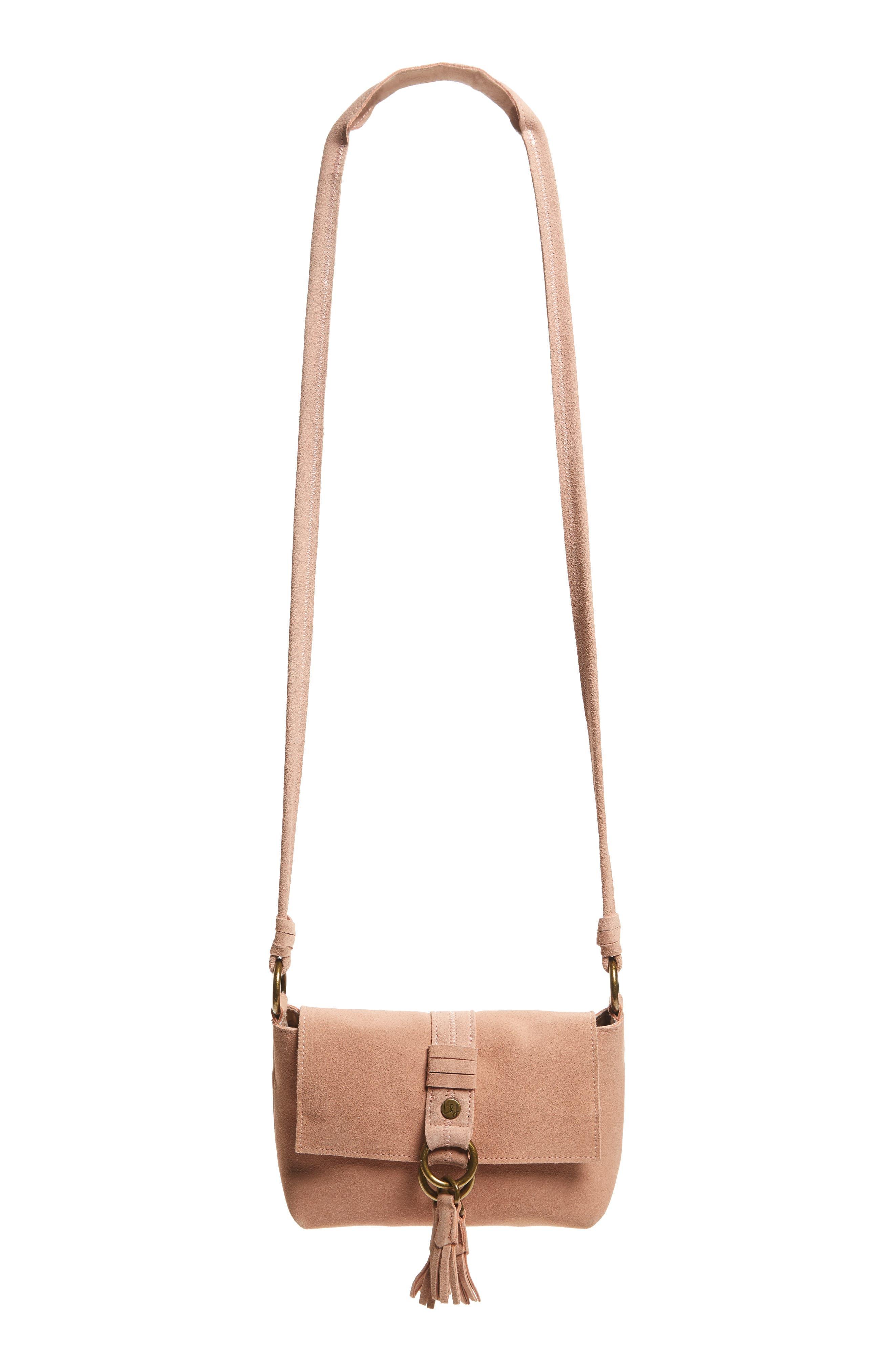 ELLE & JAE GYPSET Wildleder Leather Crossbody Bag