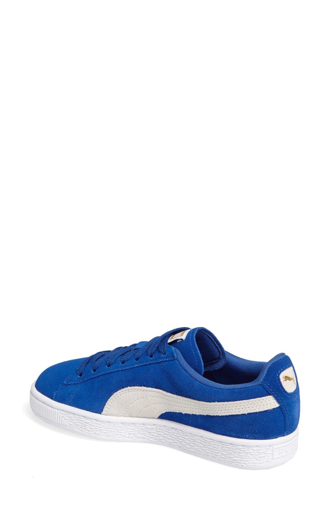 Alternate Image 2  - PUMA Suede Sneaker (Women)