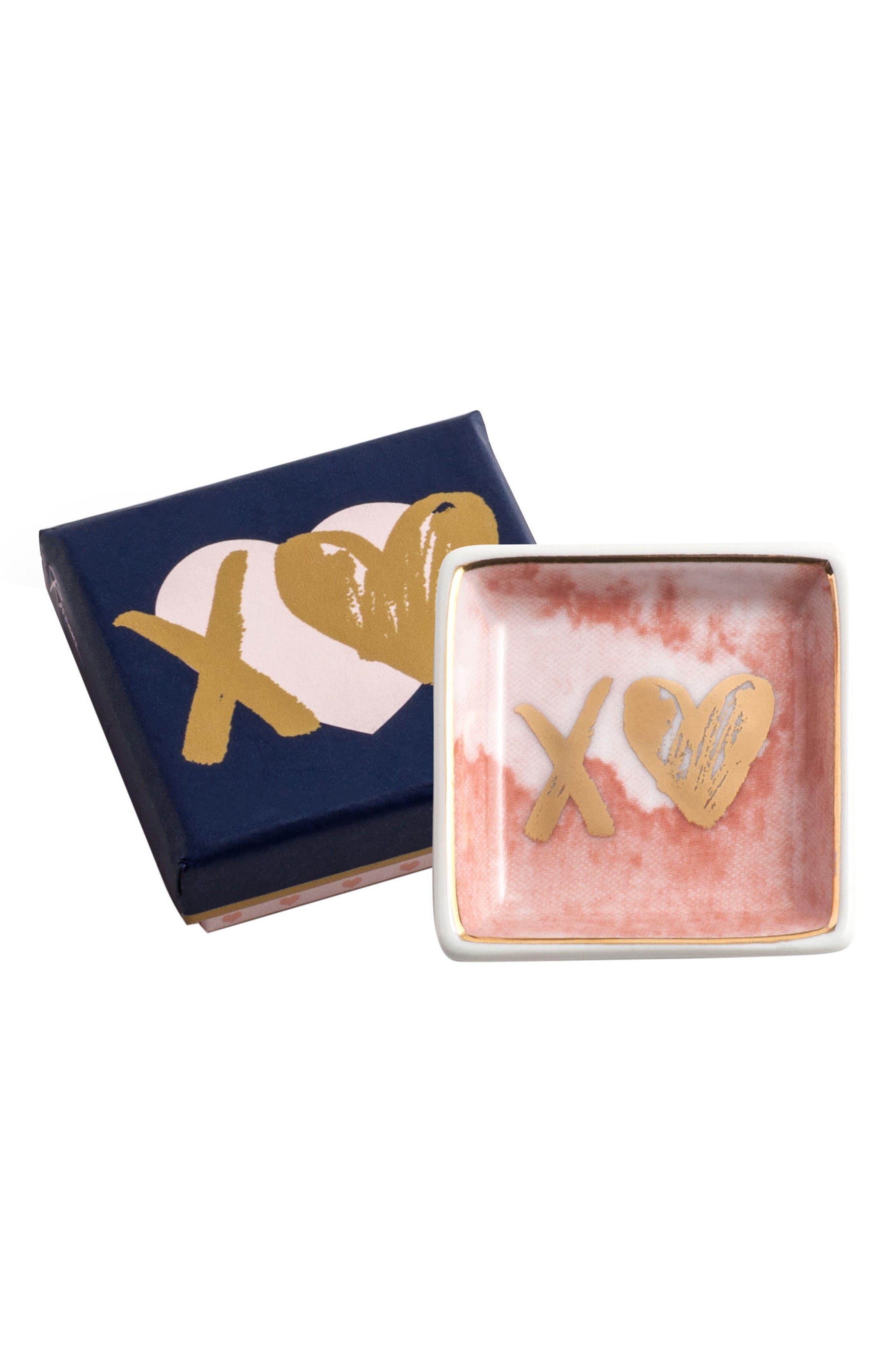 Rosanna X Heart Porcelain Trinket Tray