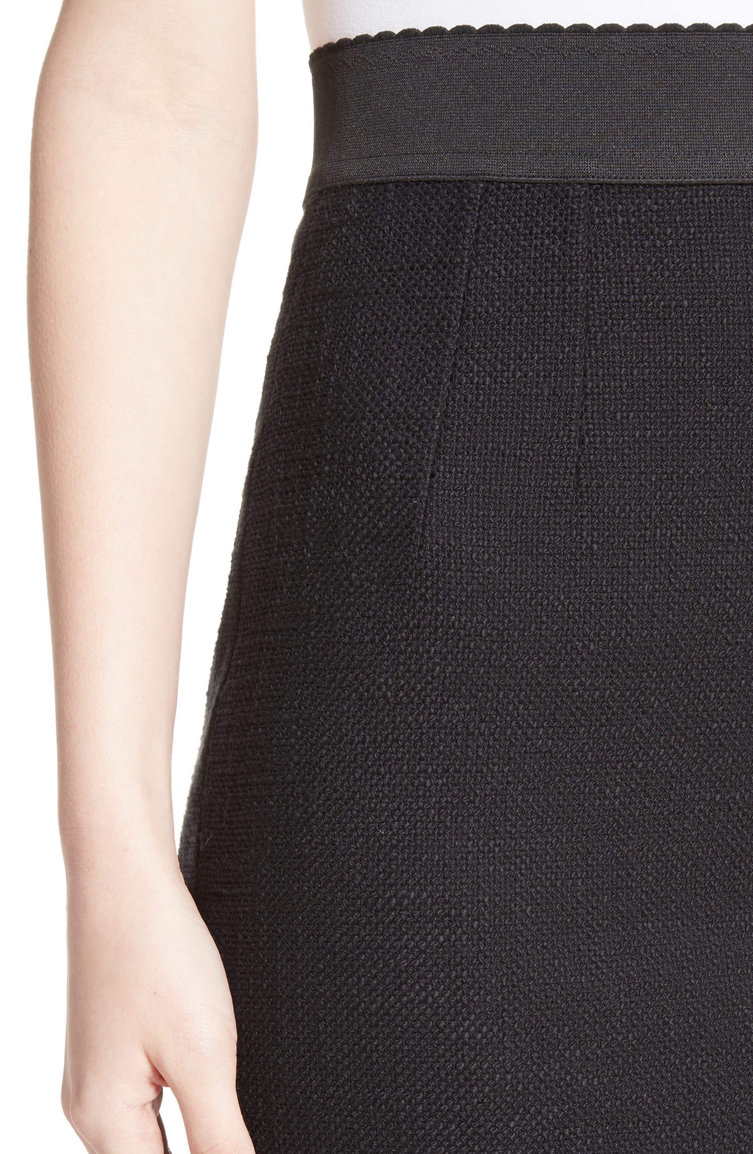 Alternate Image 6  - Dolce&Gabbana Flare Hem Skirt