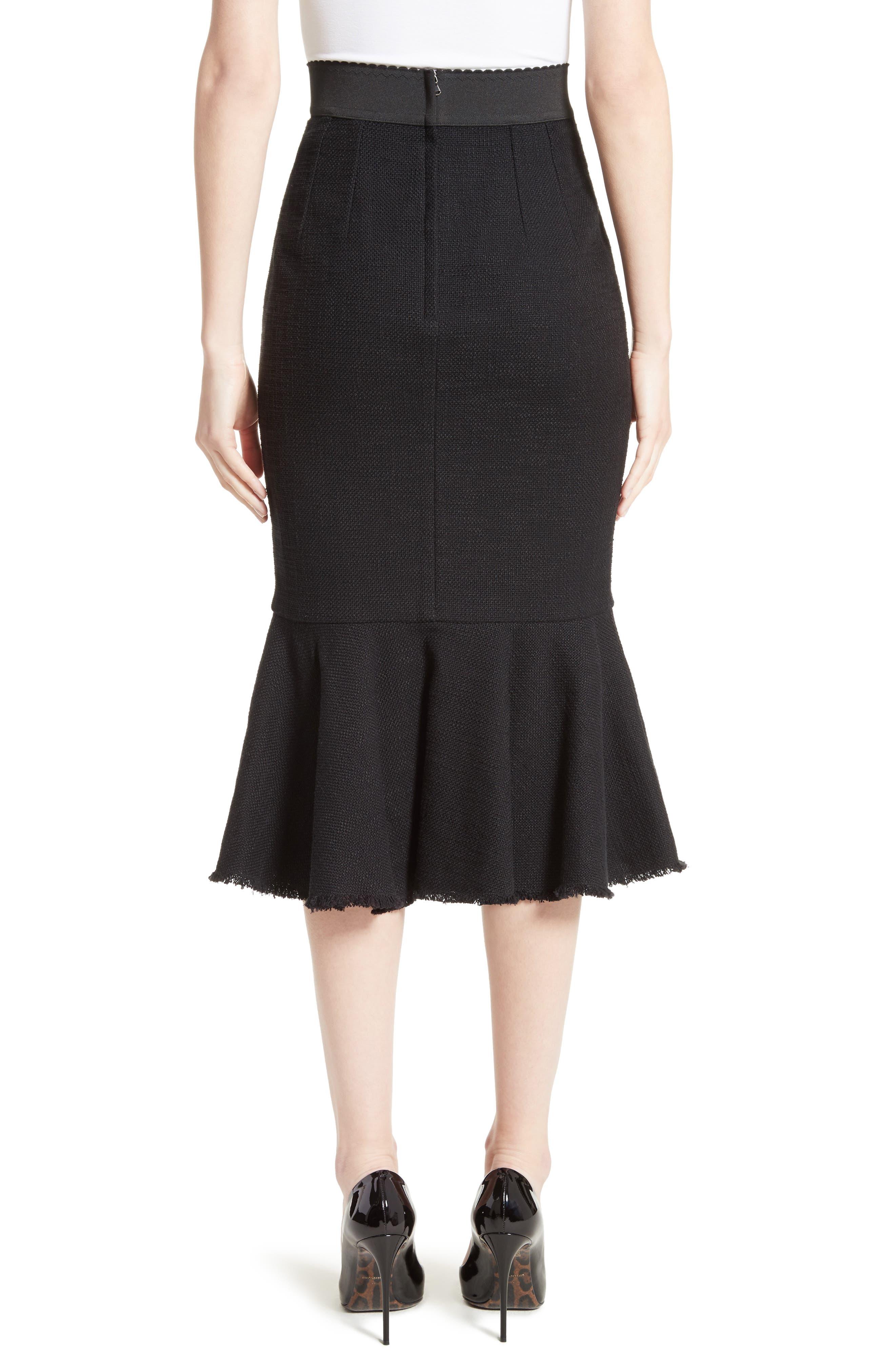 Alternate Image 2  - Dolce&Gabbana Flare Hem Skirt