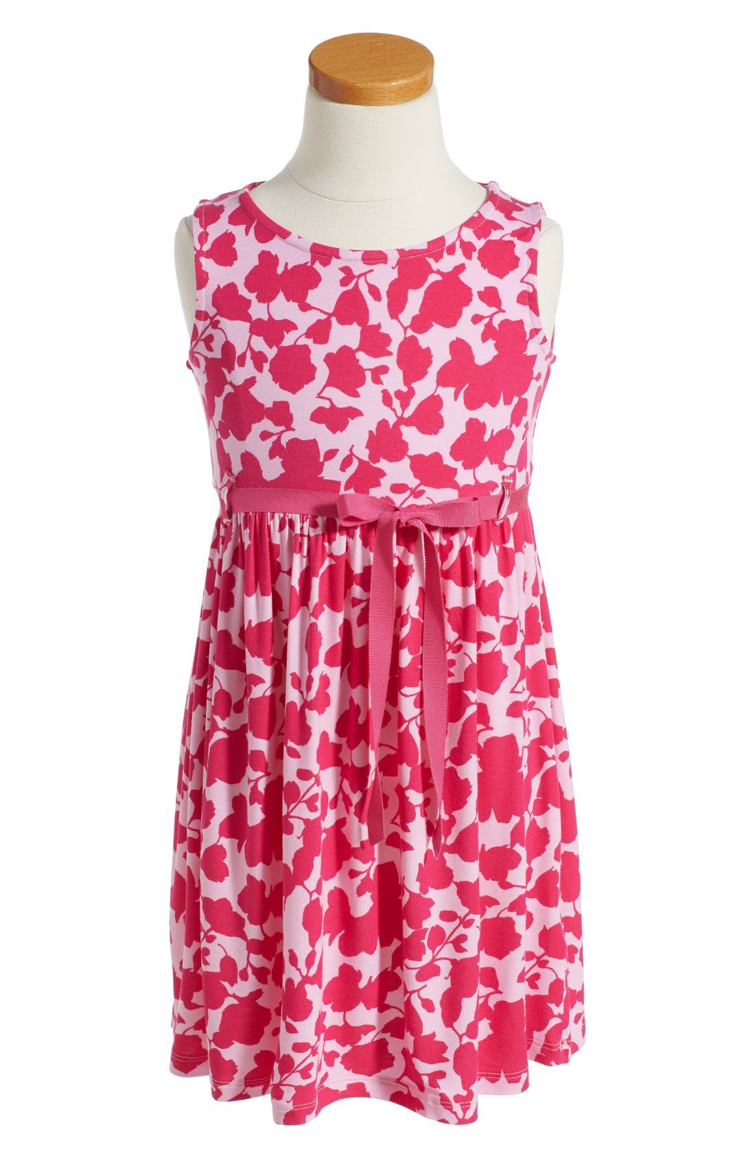 Oscar de la Renta Flower Silhouette Sundress (Toddler Girls, Little Girls & Big Girls)