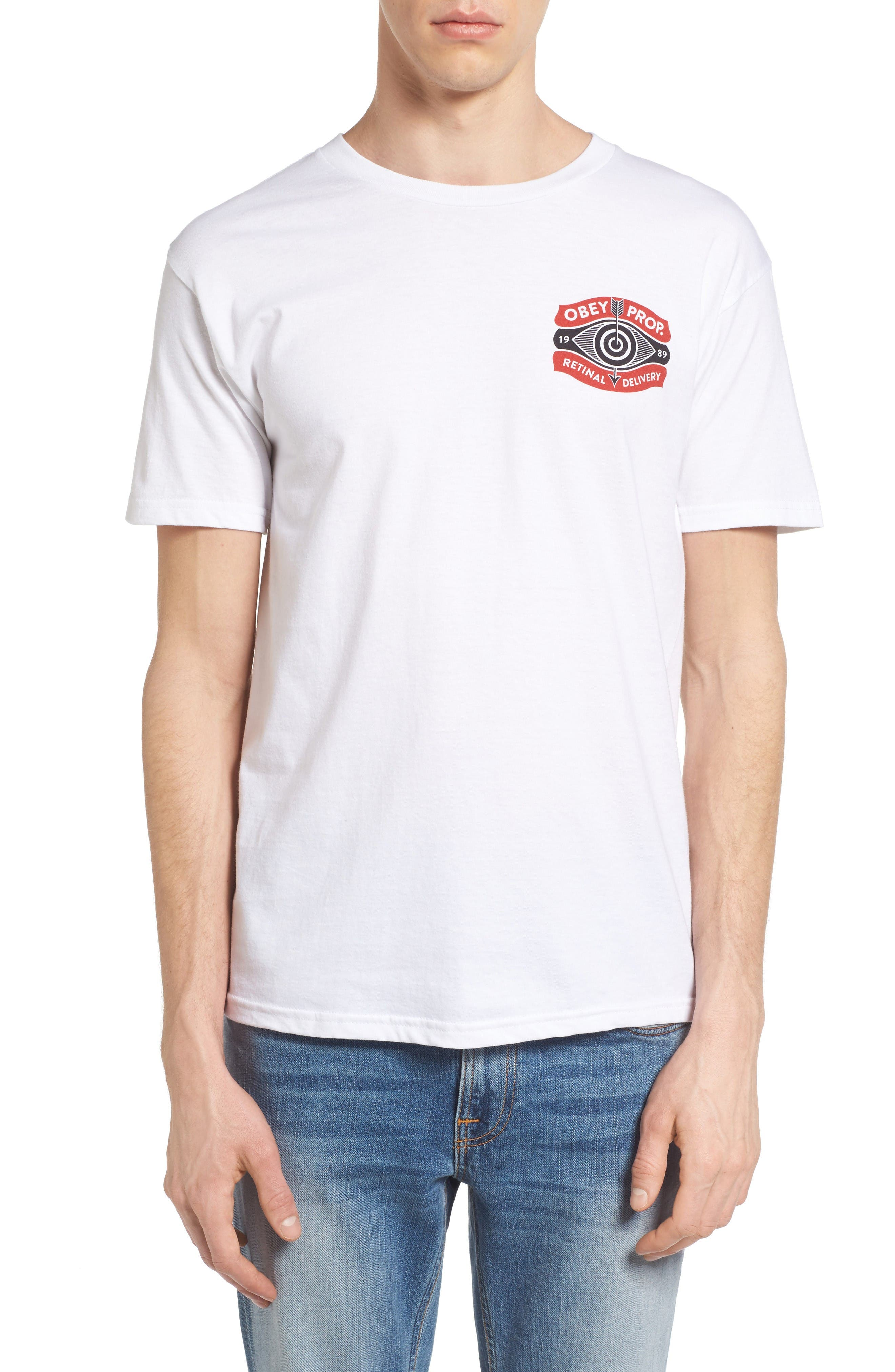 OBEY Retinal Delivery Graphic T-Shirt