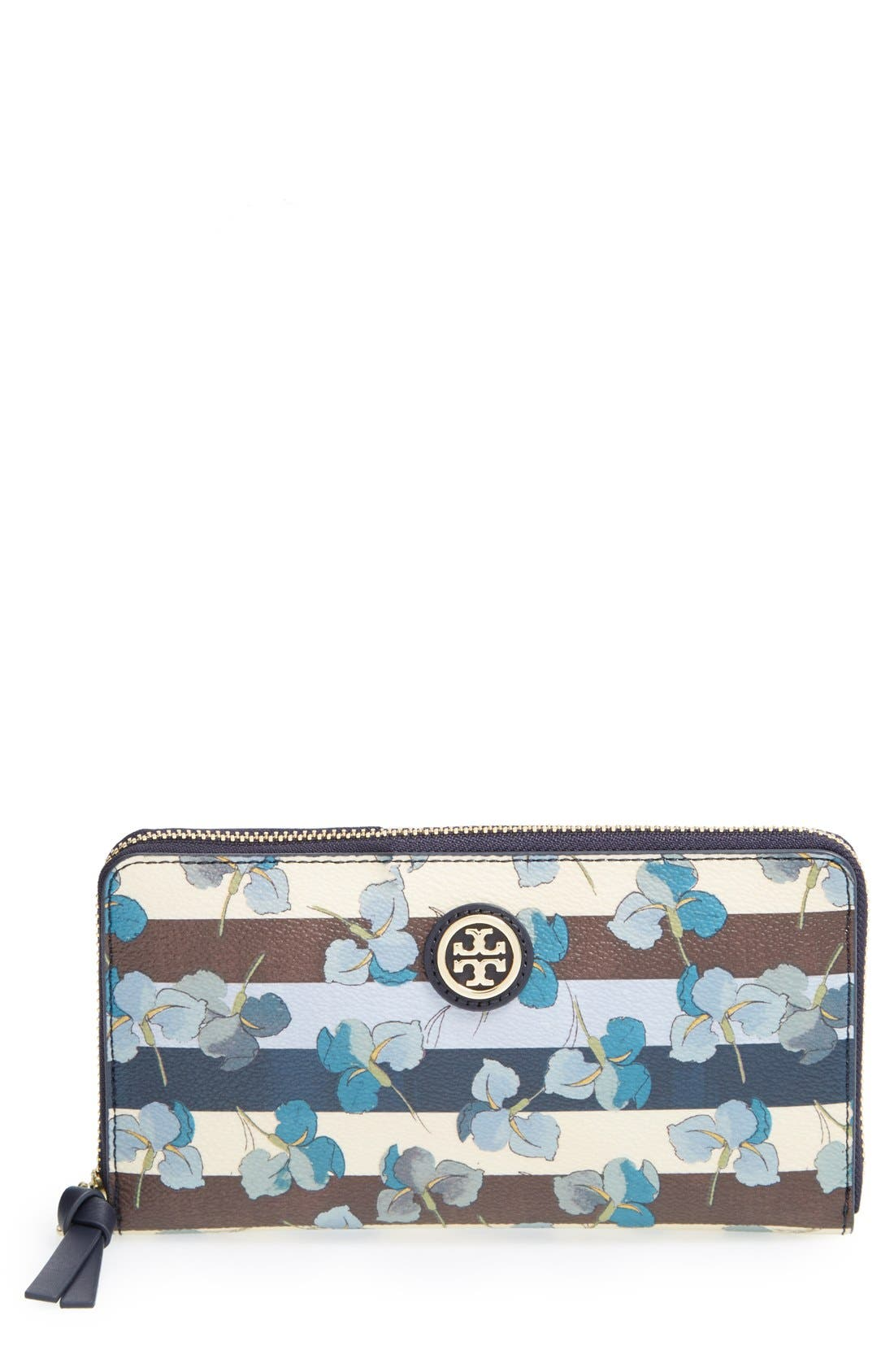 Alternate Image 1 Selected - Tory Burch 'Kerrington' Zip Continental Wallet