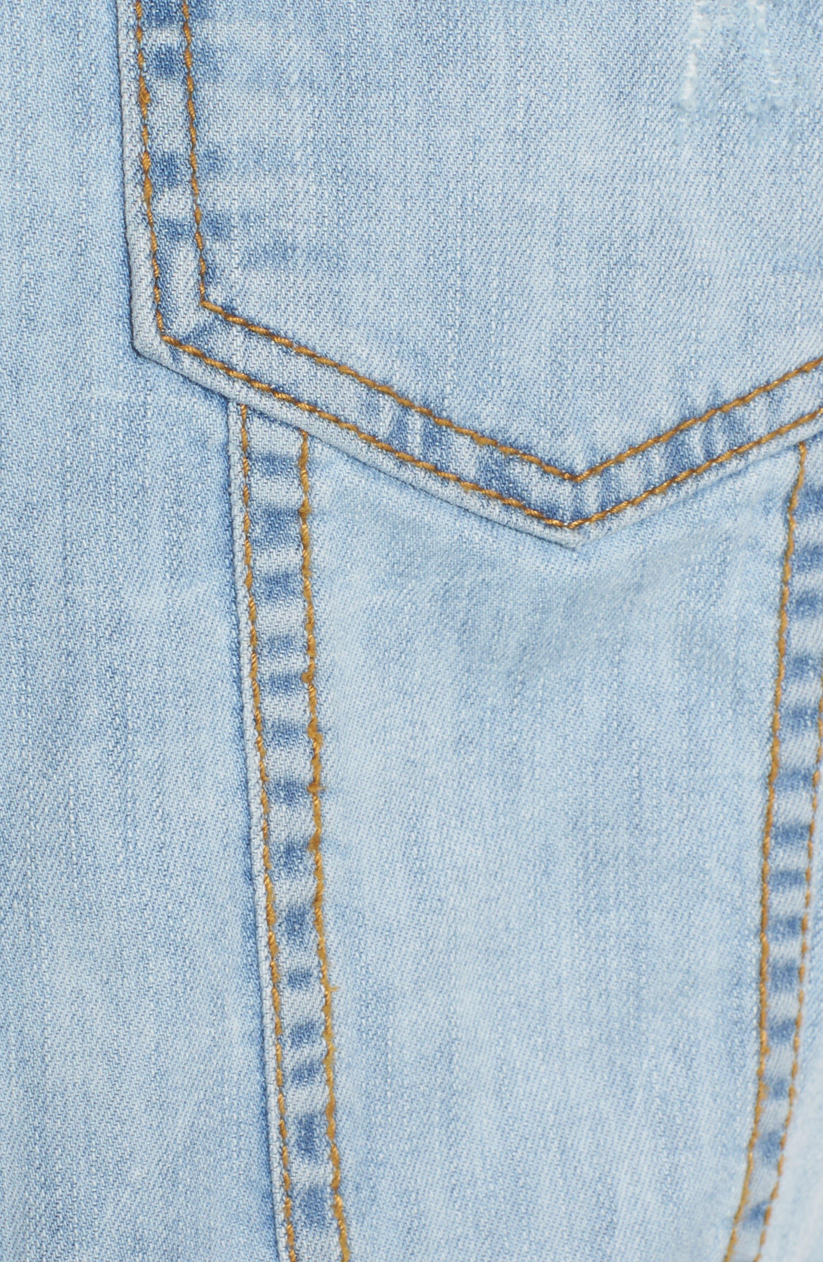 Alternate Image 5  - KUT from the Kloth Helena Denim Jacket