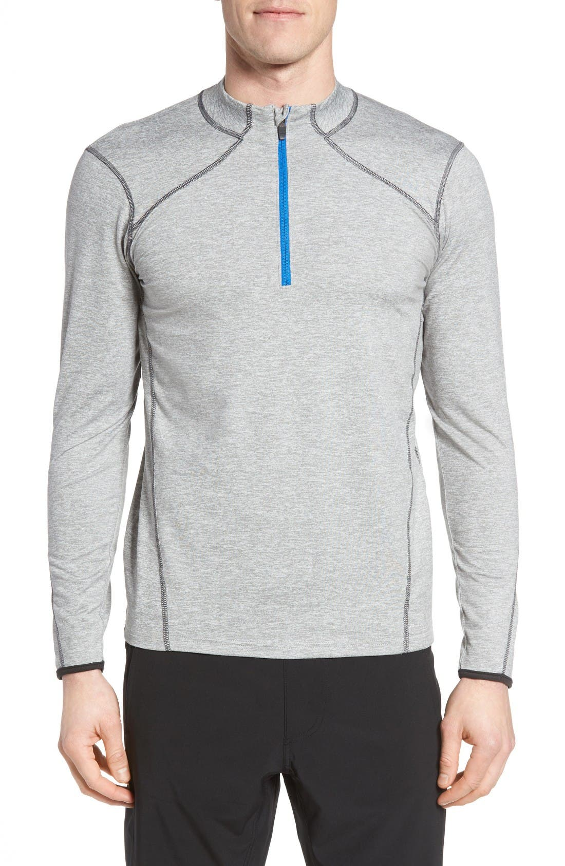SODO 'Elevate' Moisture Wicking Stretch Quarter Zip Pullover