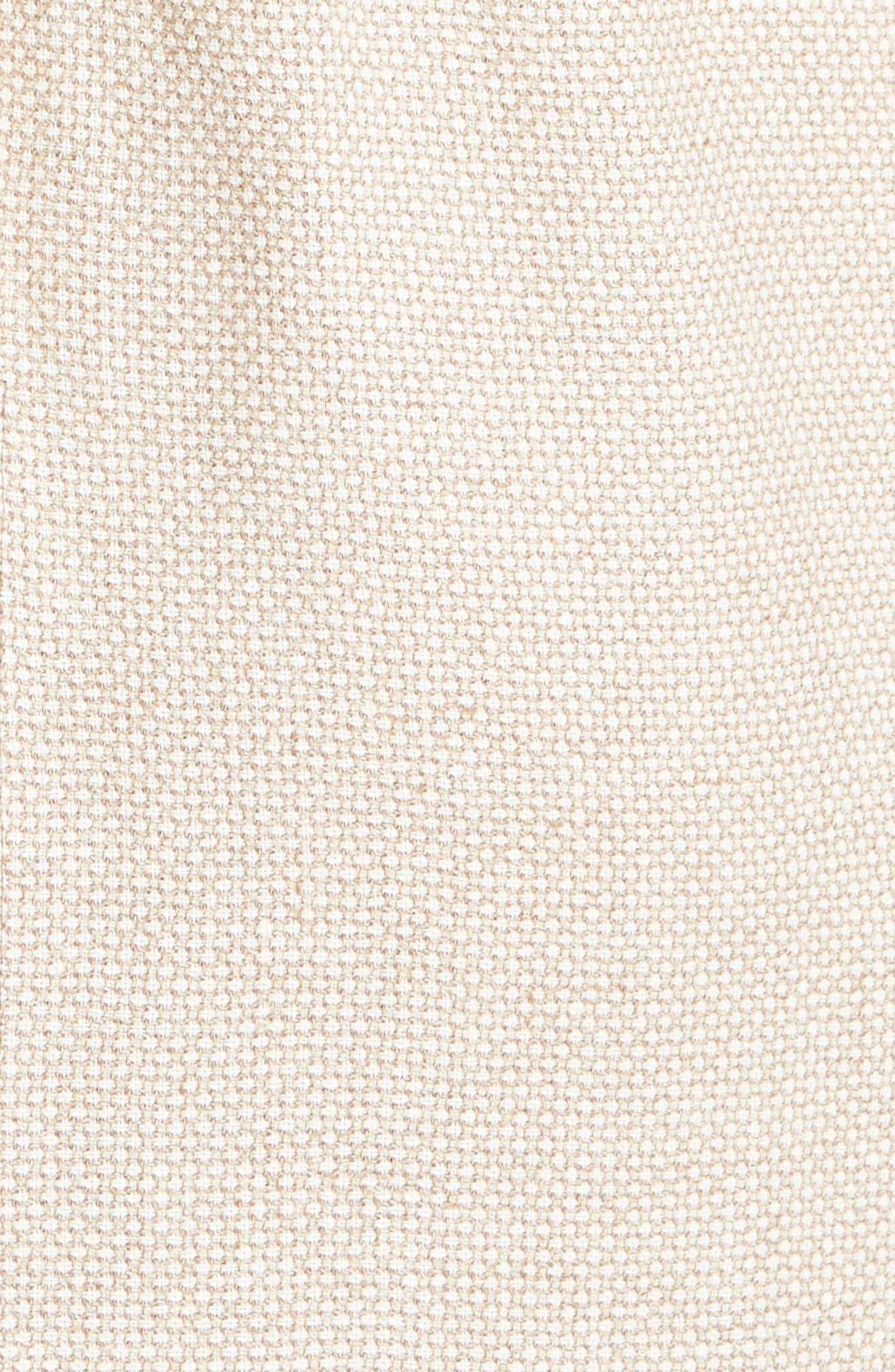 Alternate Image 3  - Max Mara Azeglio Belted Linen Sheath Dress