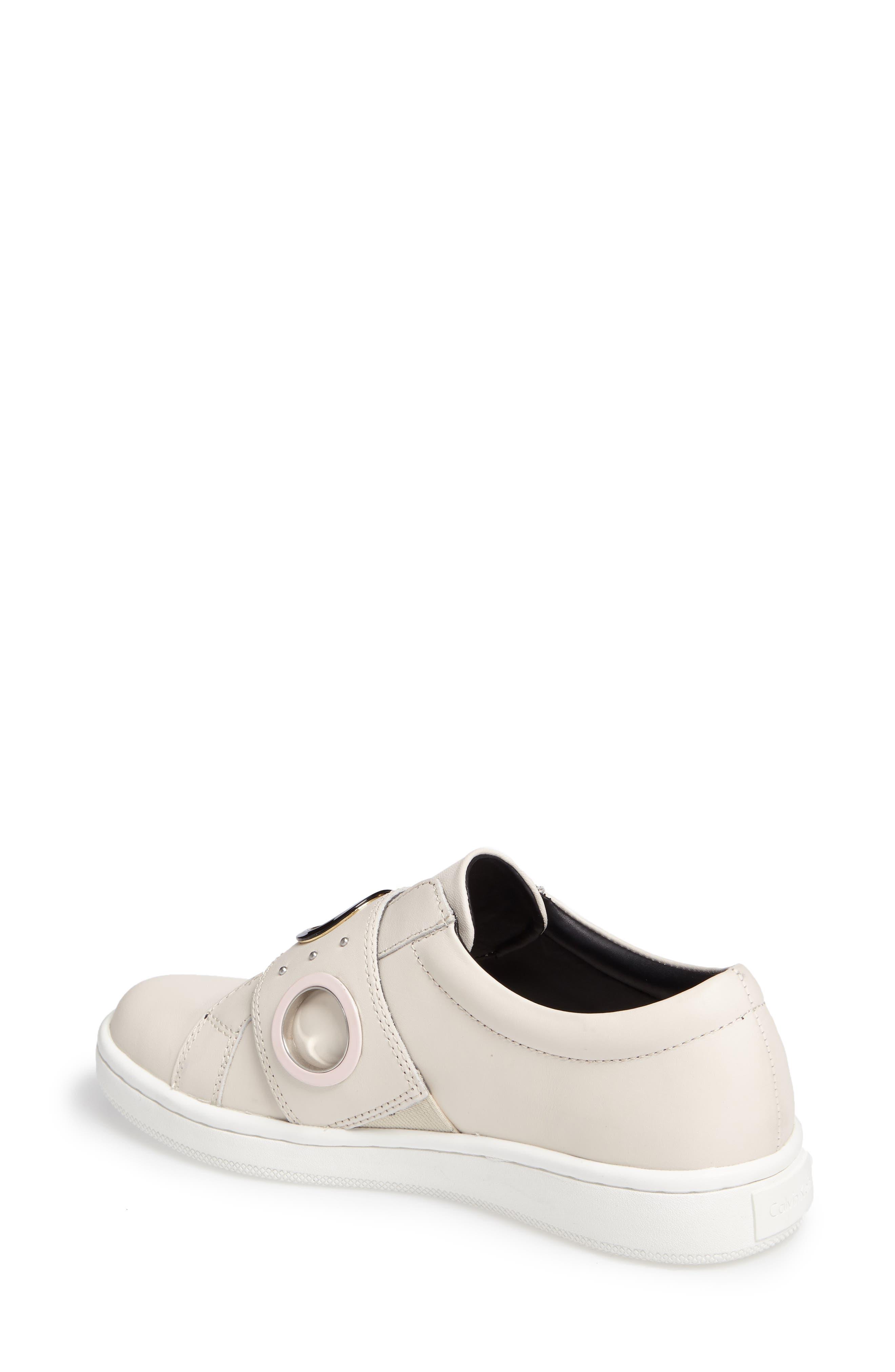 Alternate Image 2  - Calvin Klein Danette Slip-On Sneaker (Women)