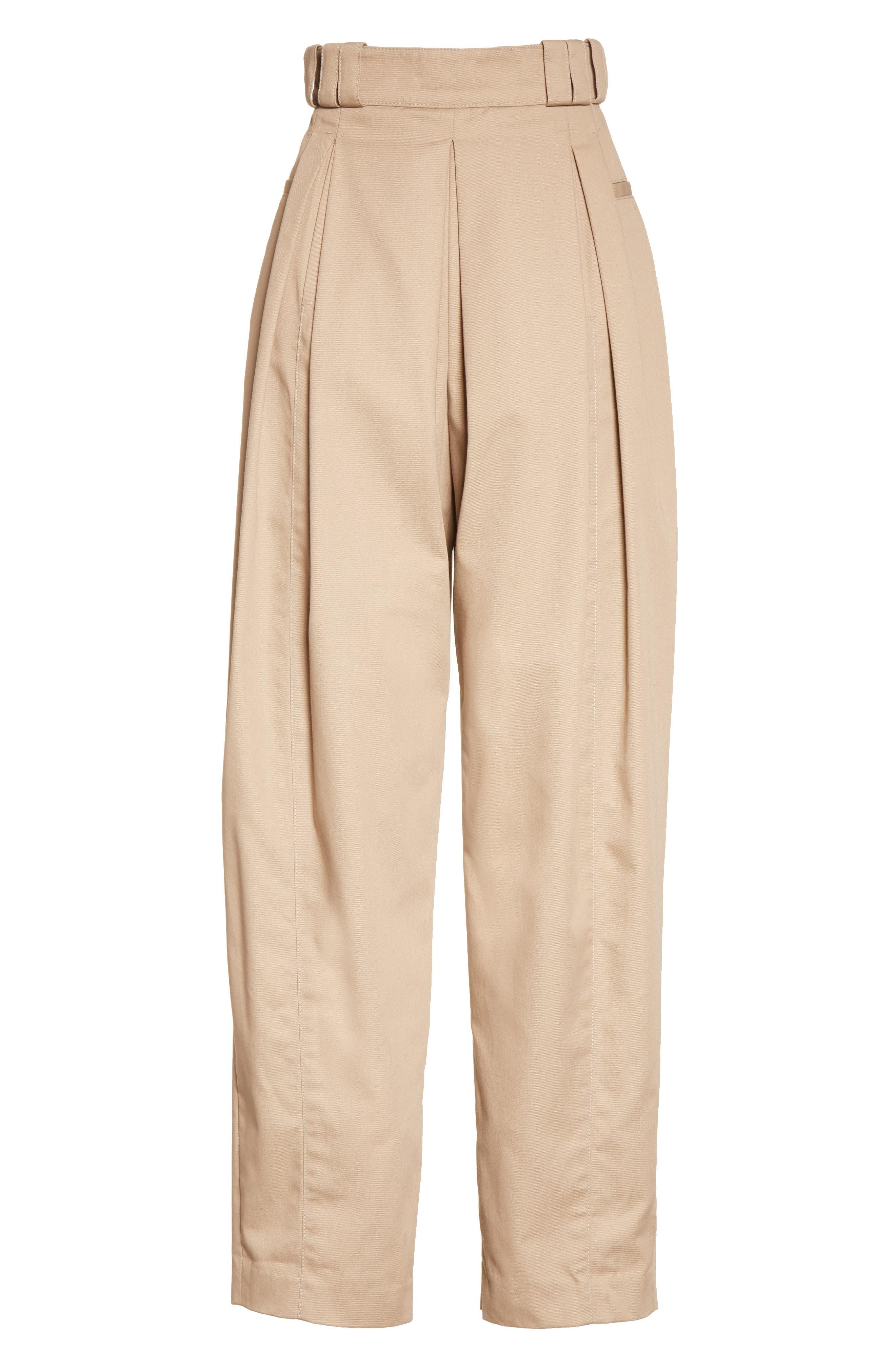 Alternate Image 4  - Alexander Wang High Waist Tech Twill Pants