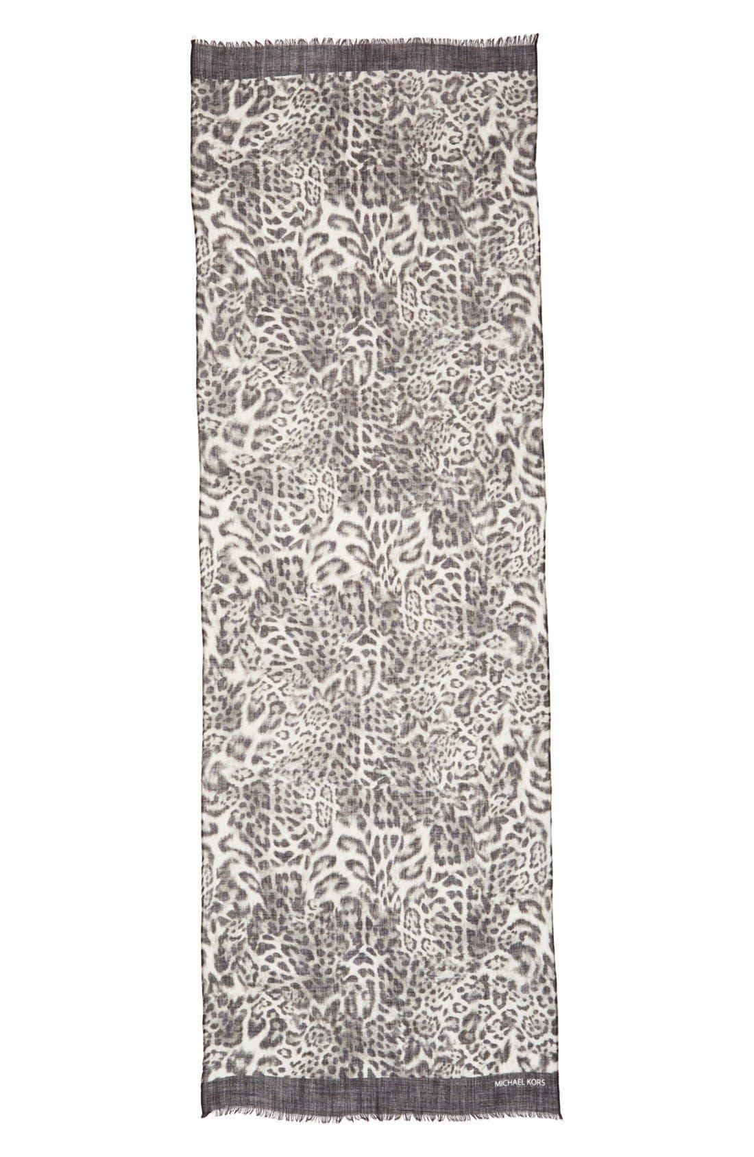 Alternate Image 2  - MICHAEL Michael Kors 'Fremont' Wool Scarf