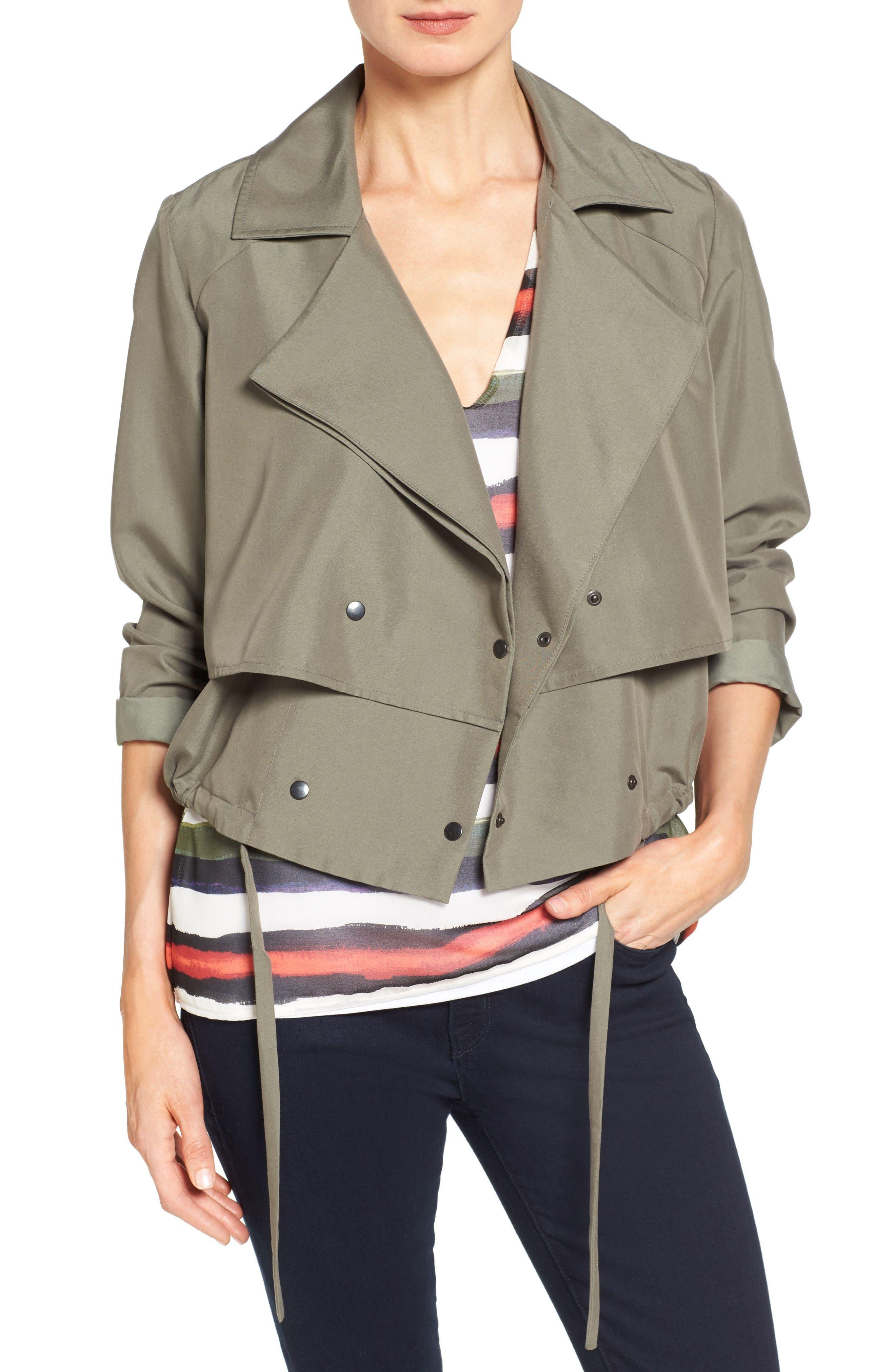 Main Image - Halogen® Soft Utility Jacket (Regular & Petite)