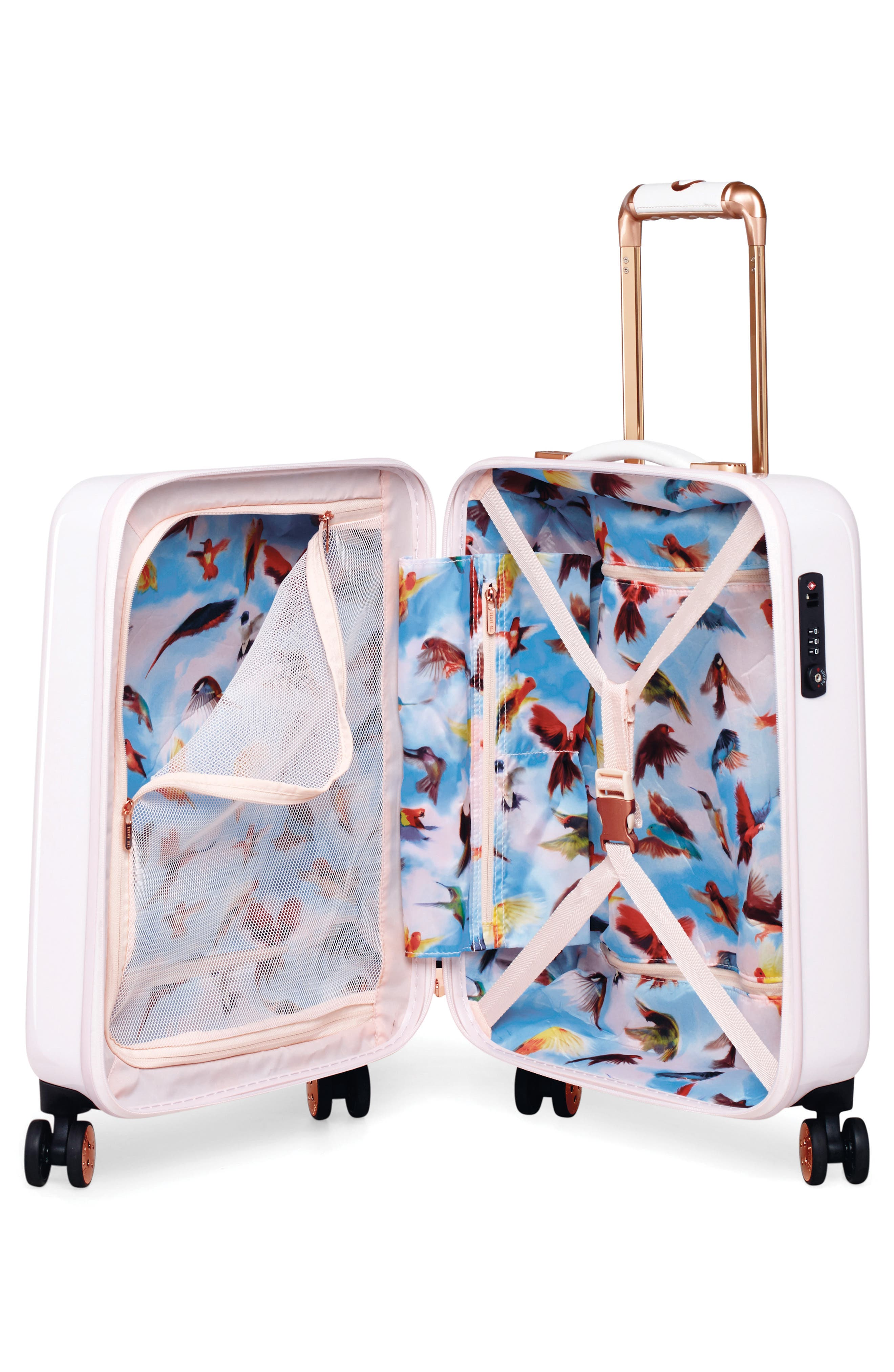 Alternate Image 3  - Ted Baker London Small Four-Wheel Suitcase (21 Inch)