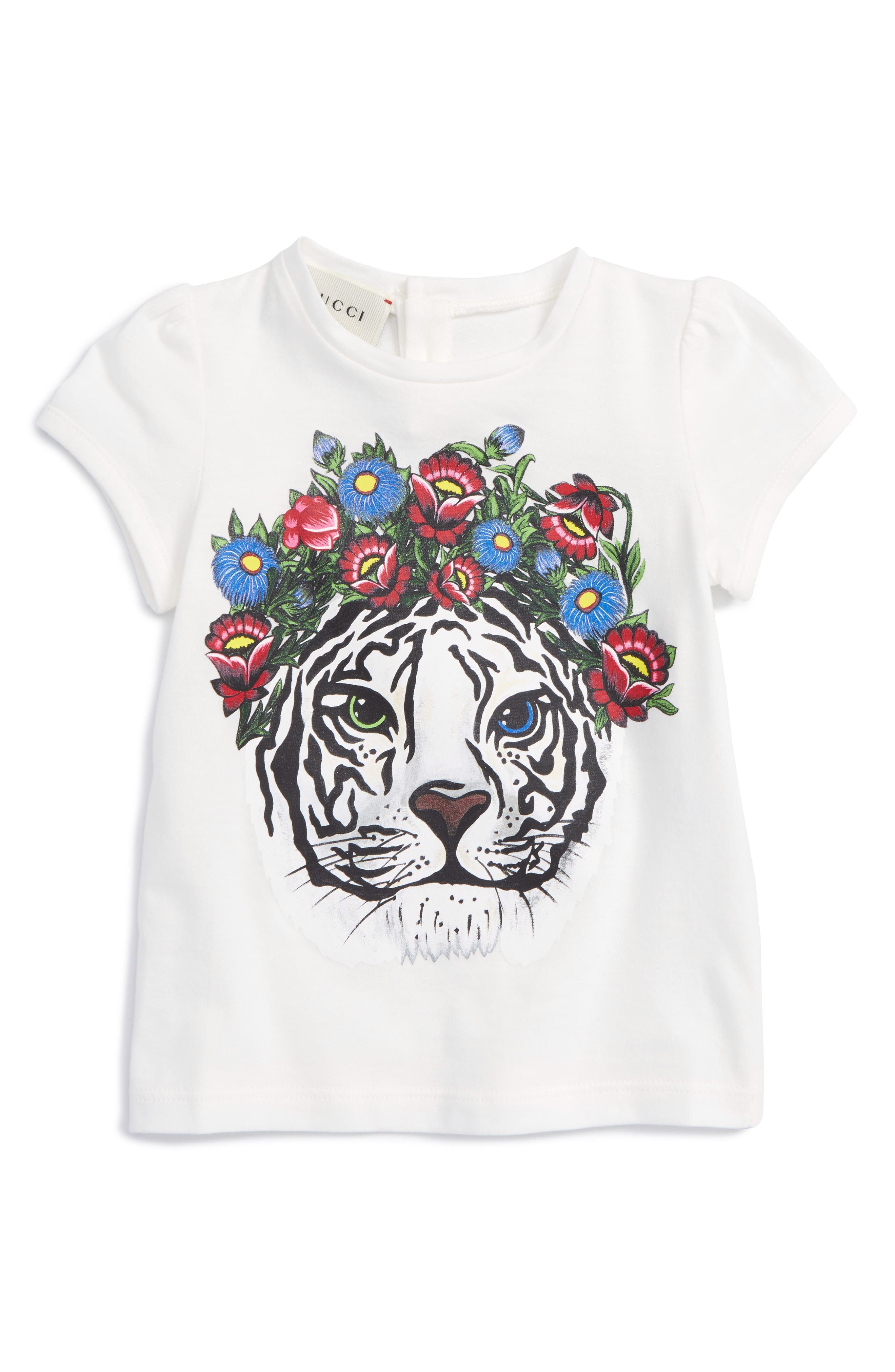 GUCCI Tiger Graphic Tee