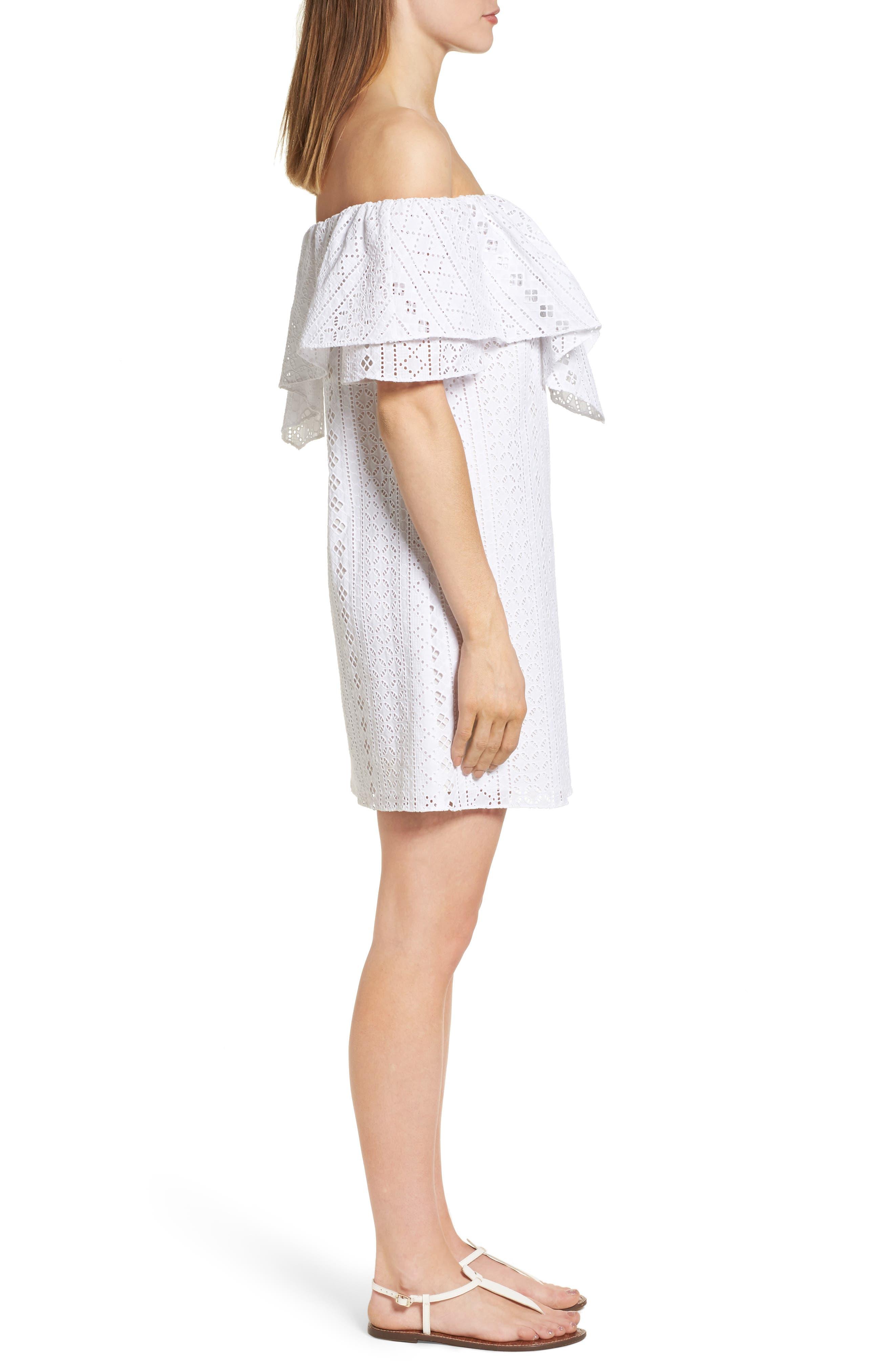 Alternate Image 4  - A by Amanda Birch Dress