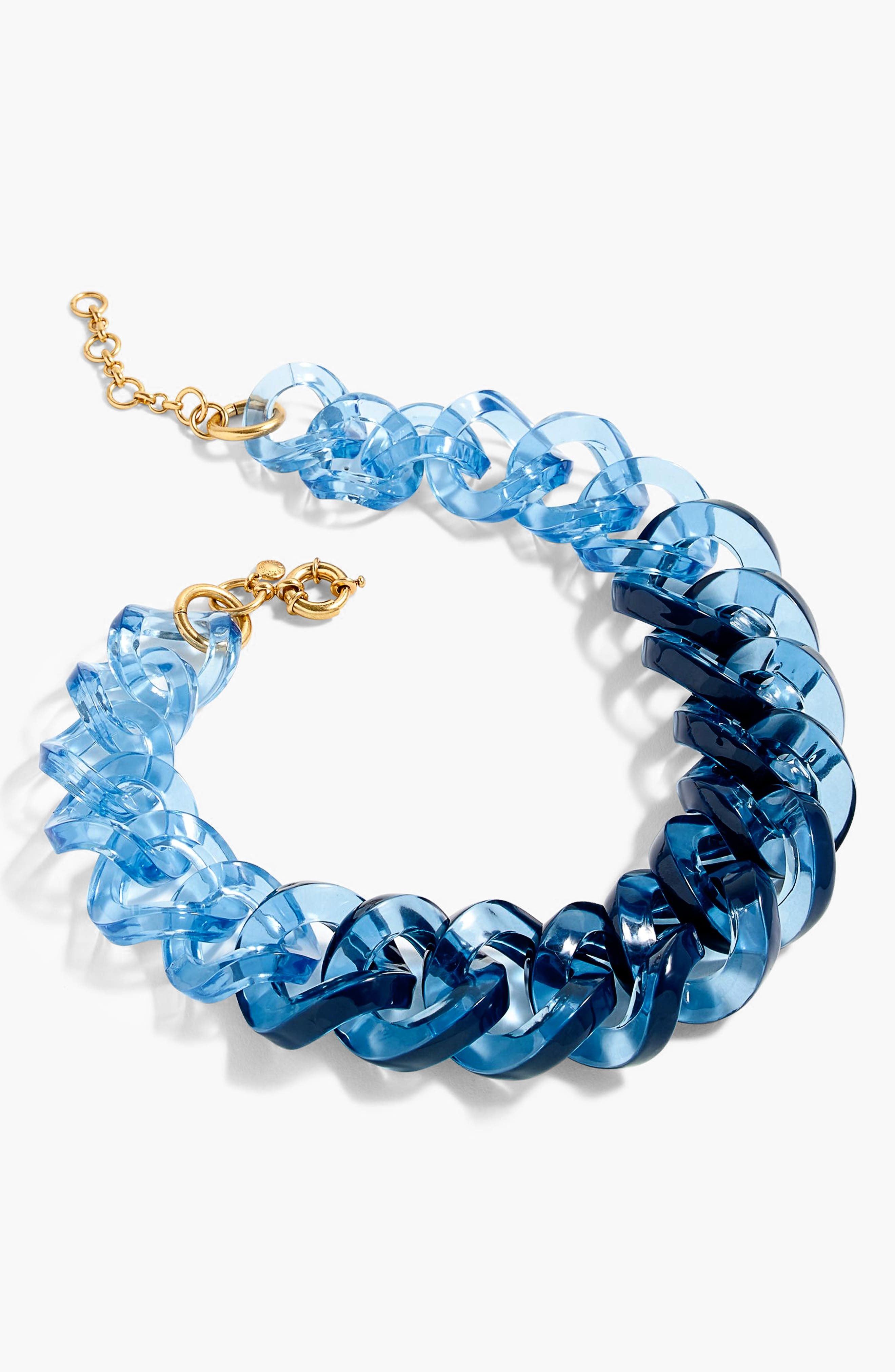 Alternate Image 1 Selected - J.Crew Lucite Link Necklace