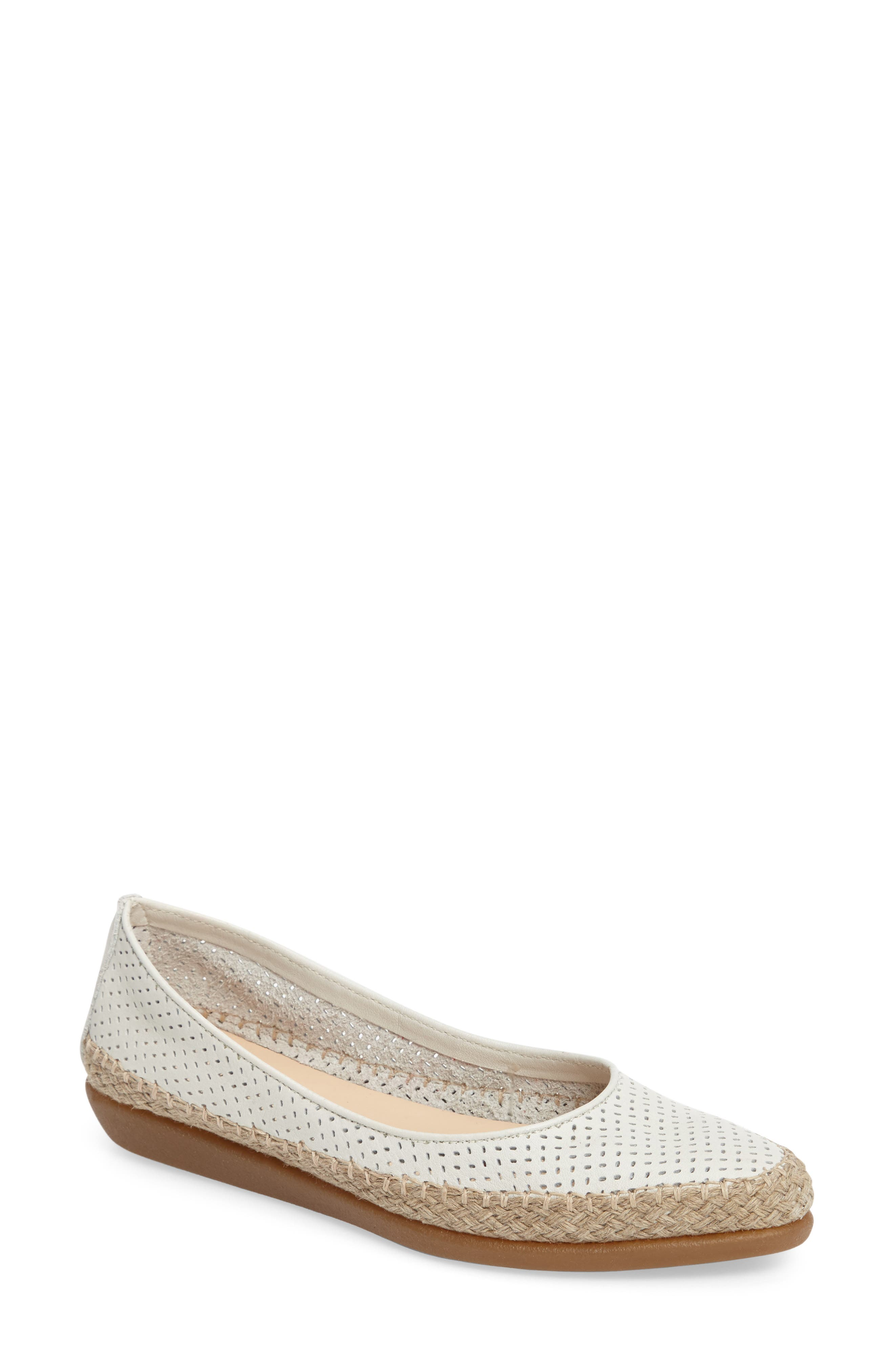 The FLEXX 'Torri' Perforated Espadrille Flat
