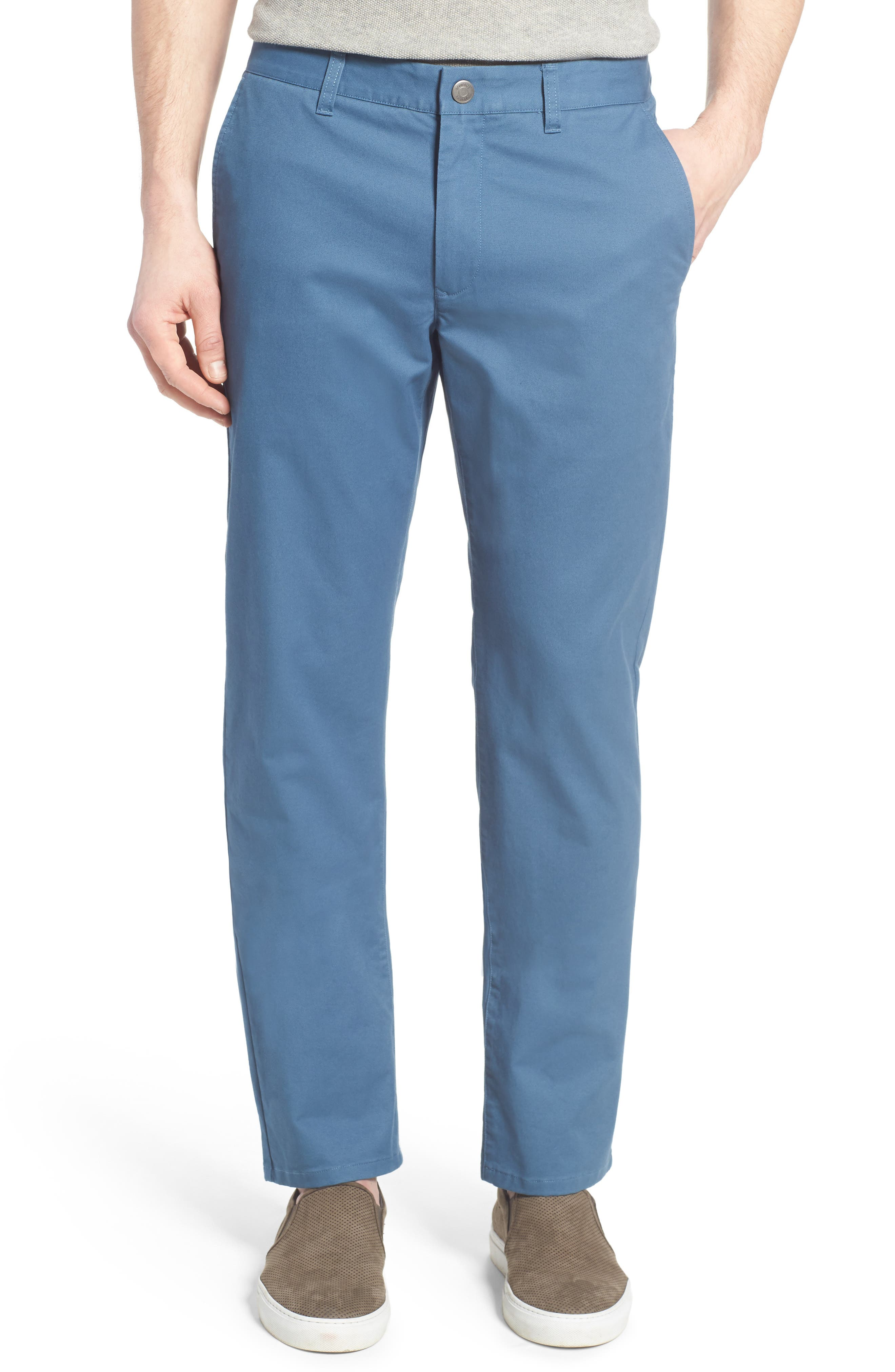 Alternate Image 1 Selected - Bonobos Straight Washed Stretch Chinos