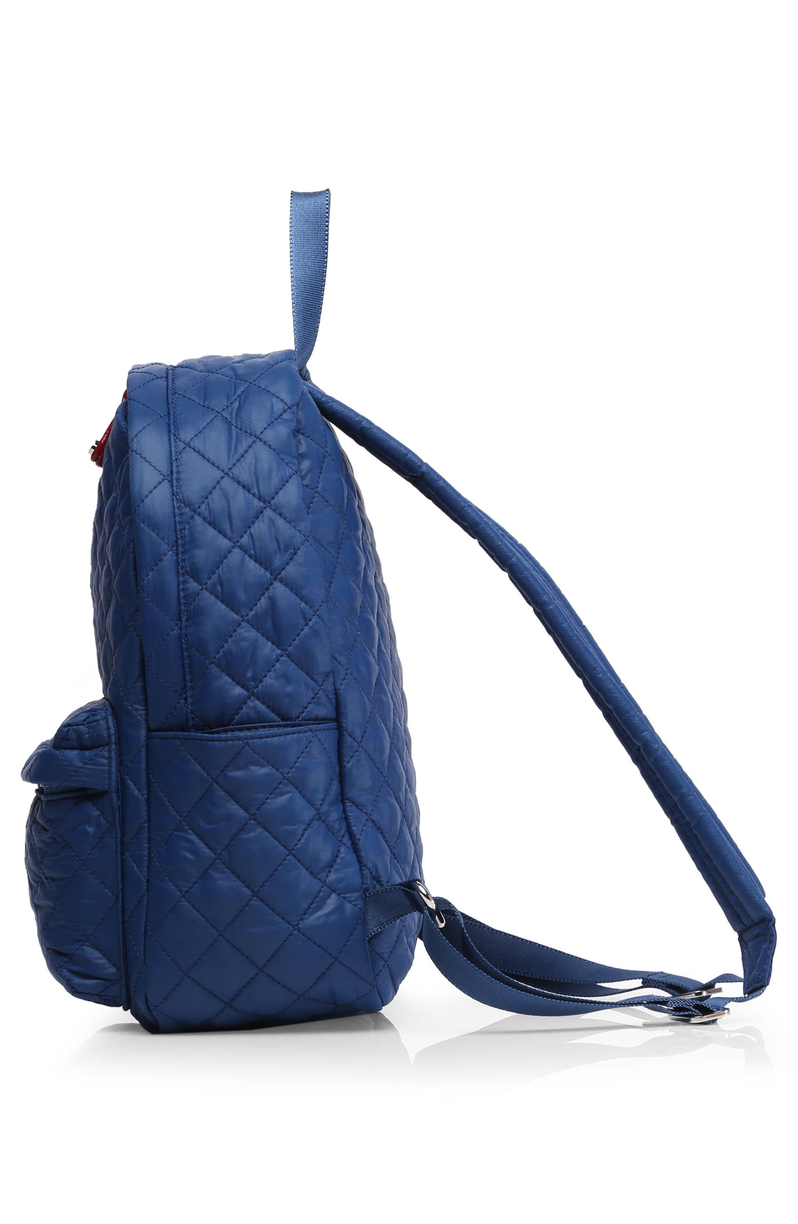 Alternate Image 4  - MZ Wallace 'Small Metro' Quilted Oxford Nylon Backpack