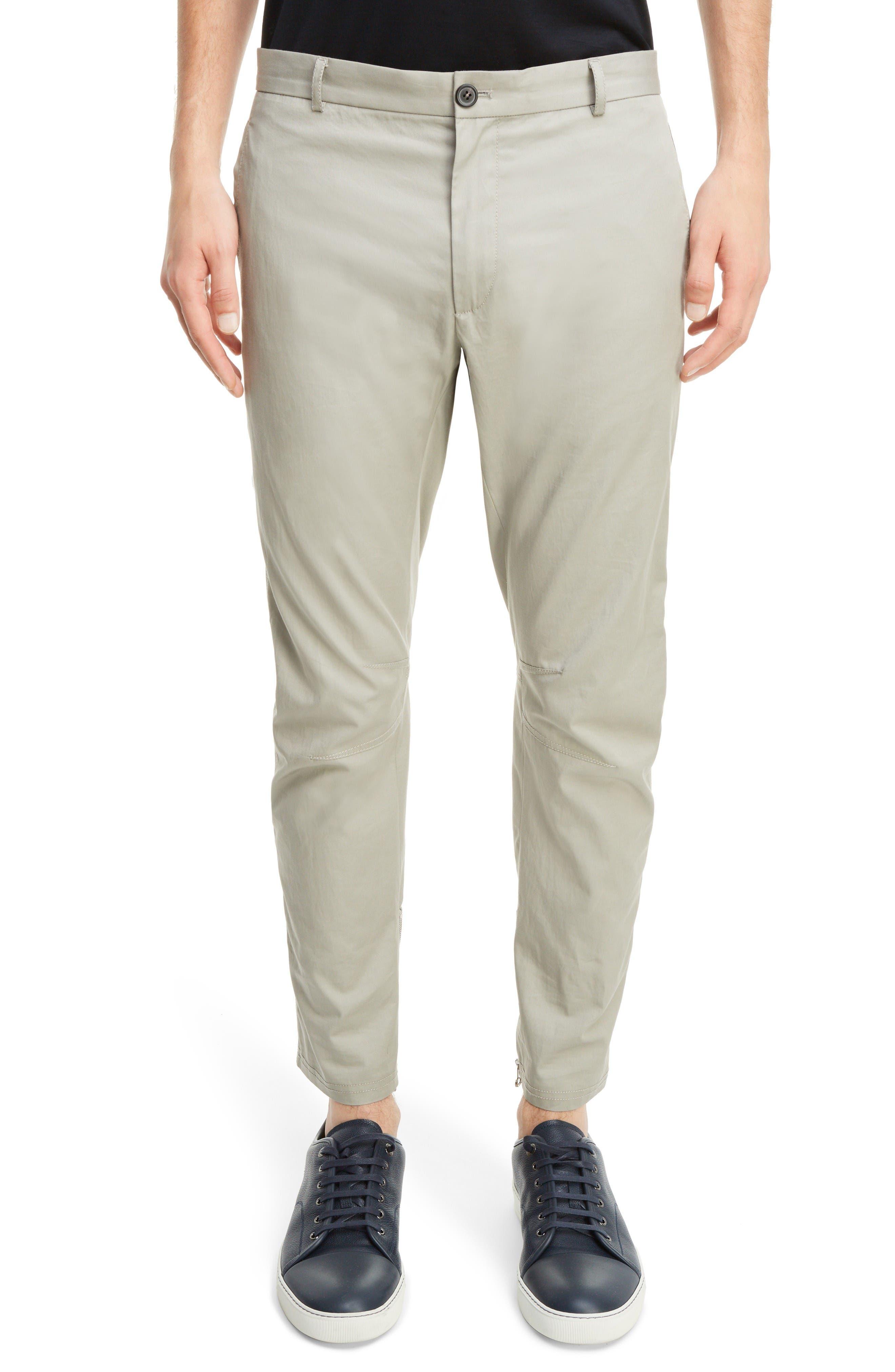Lanvin Cotton Biker Pants
