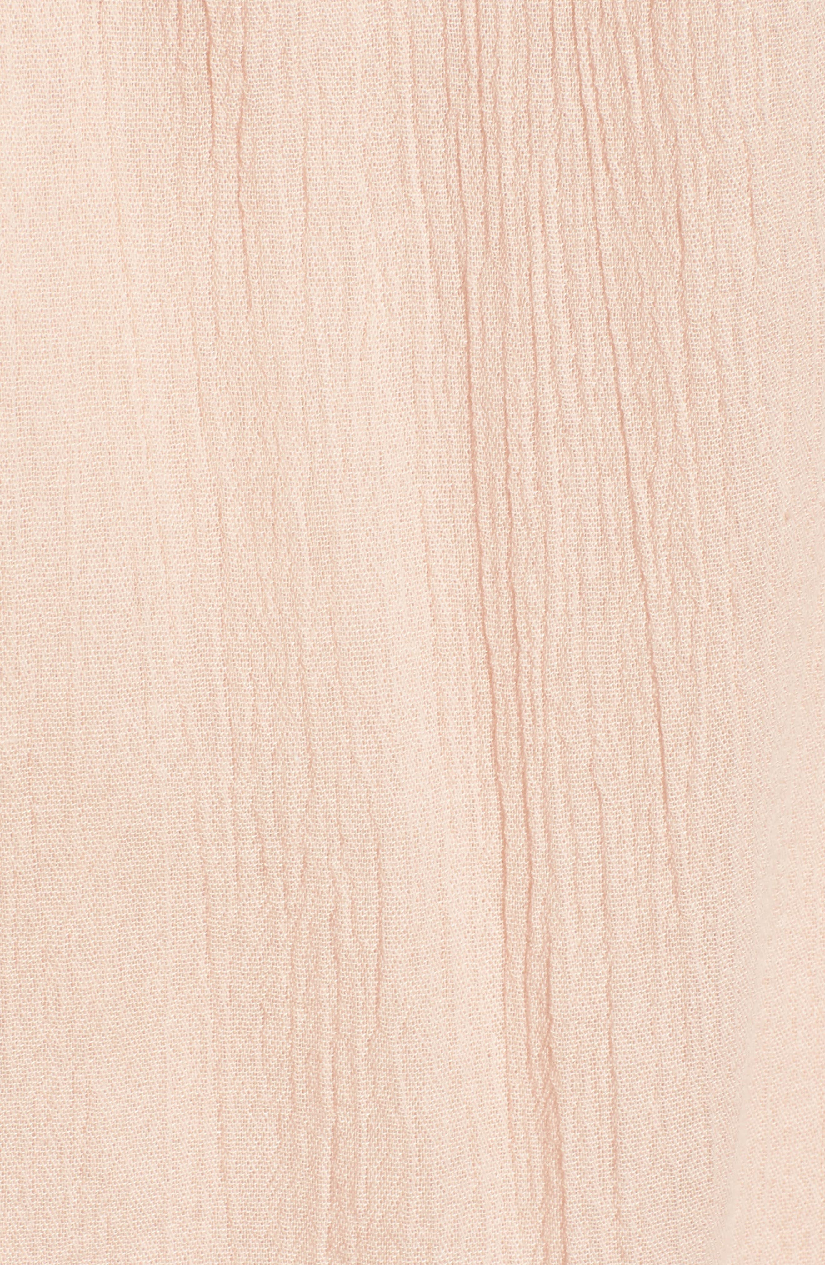 Alternate Image 5  - Hinge Lace Yoke Babydoll Dress
