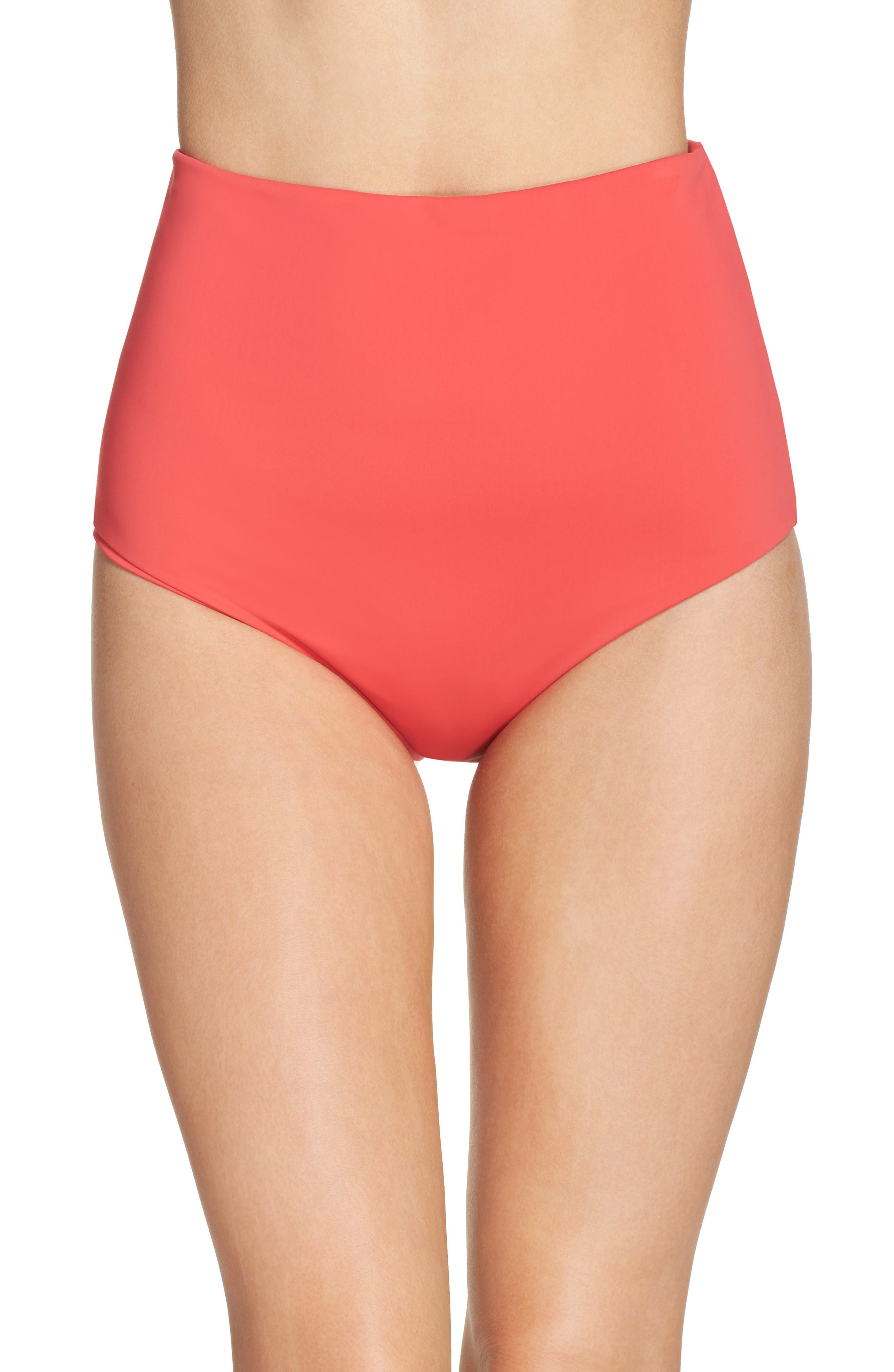 Mara Hoffman High Waist Bikini Bottoms