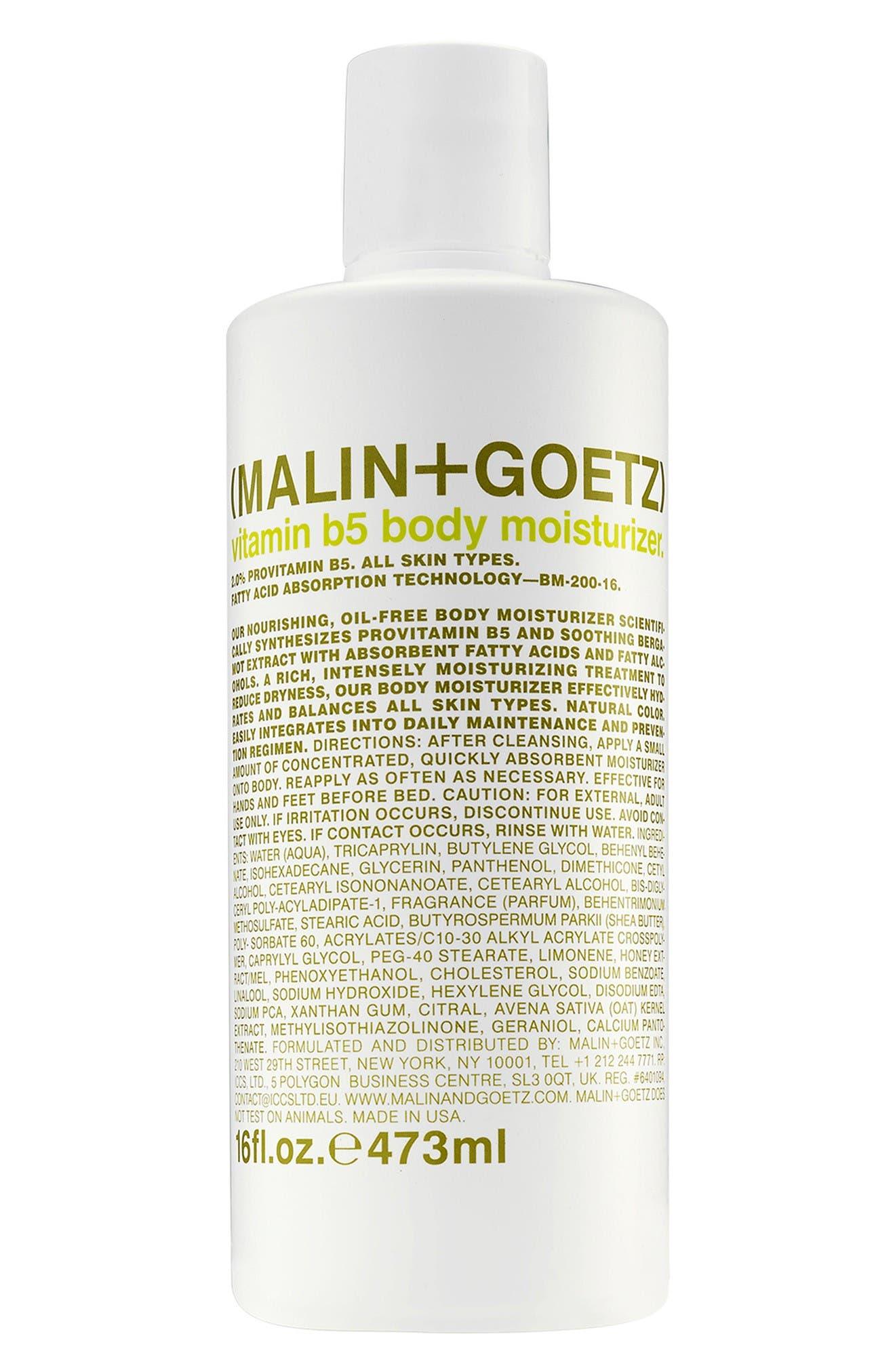 SPACE.NK.apothecary Malin + Goetz Vitamin B5 Body Moisturizer