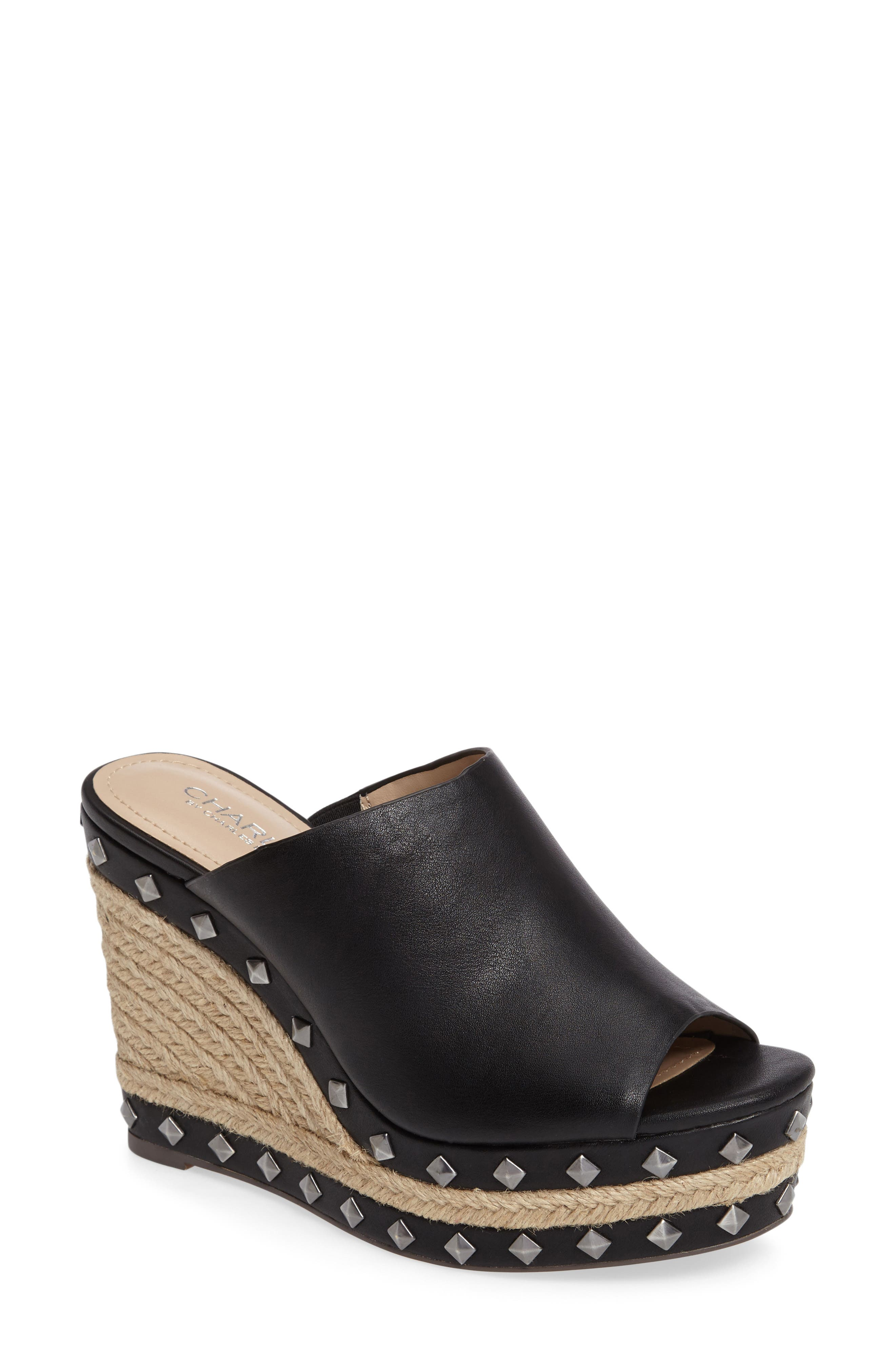 Charles by Charles David Lisbon Platform Wedge Sandal (Women)