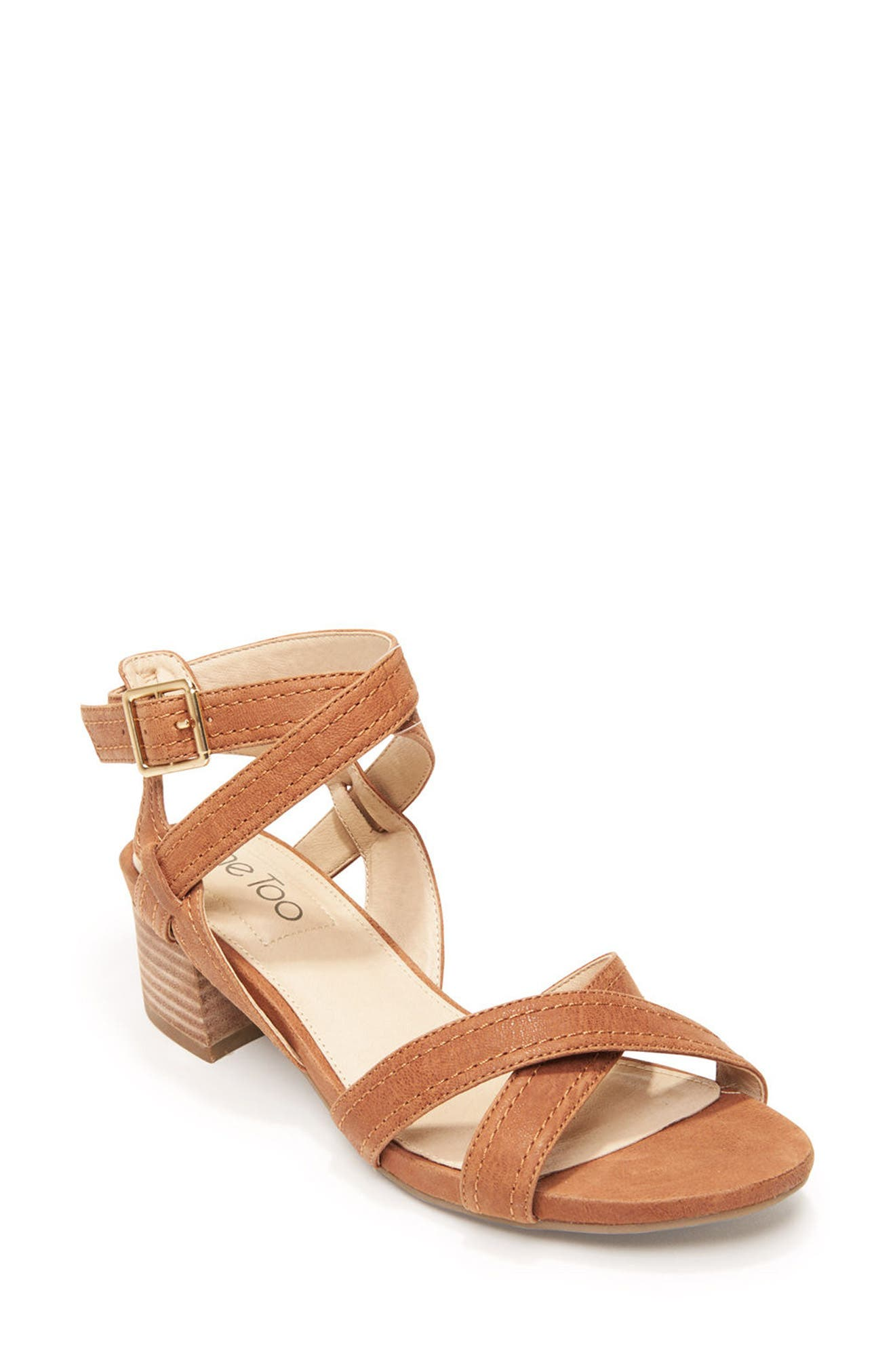 Me Too Block Heel Sandal (Women)