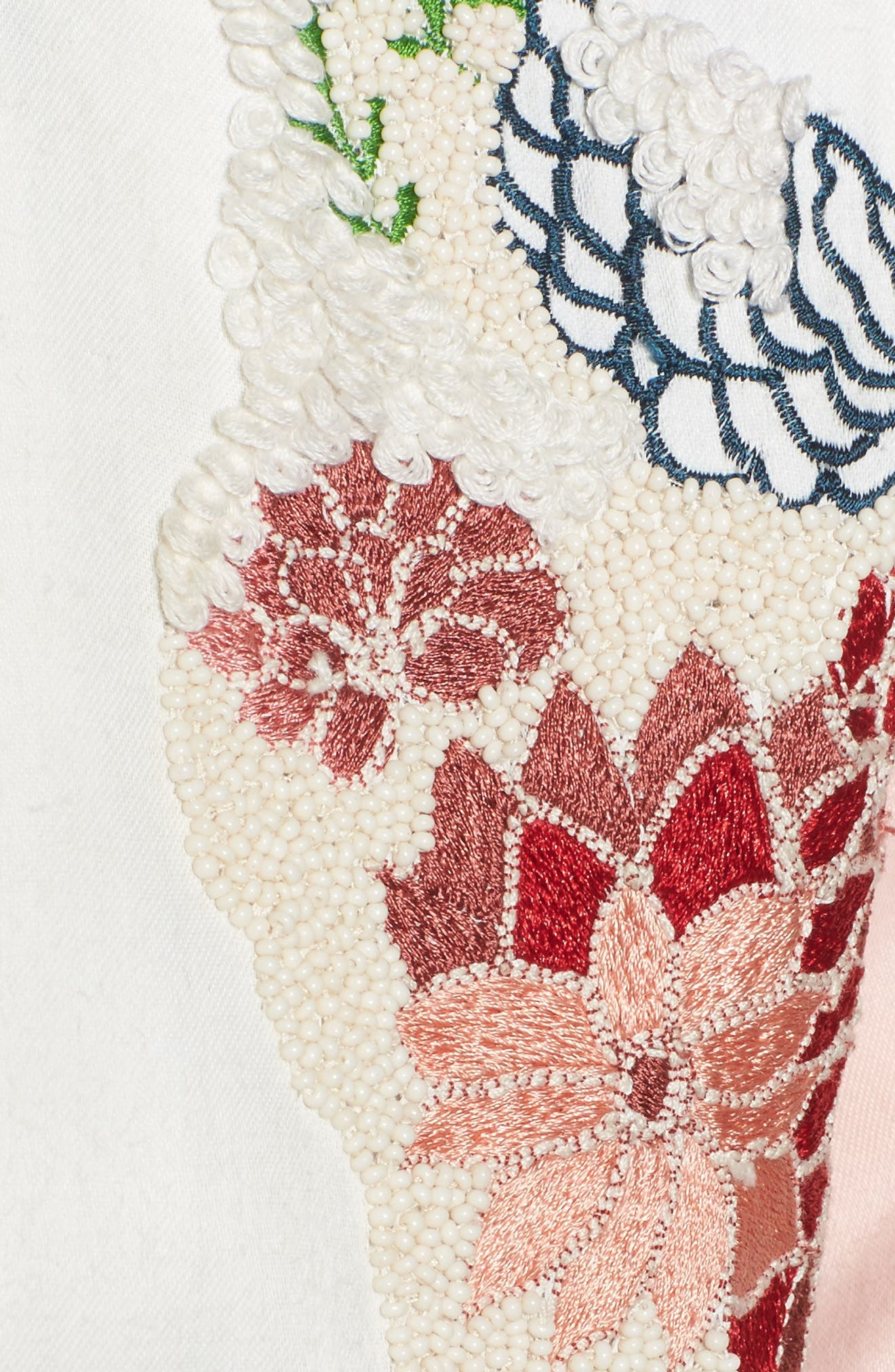 Alternate Image 5  - Paul & Joe Sister Les Fleurs Embroidered Bomber Jacket