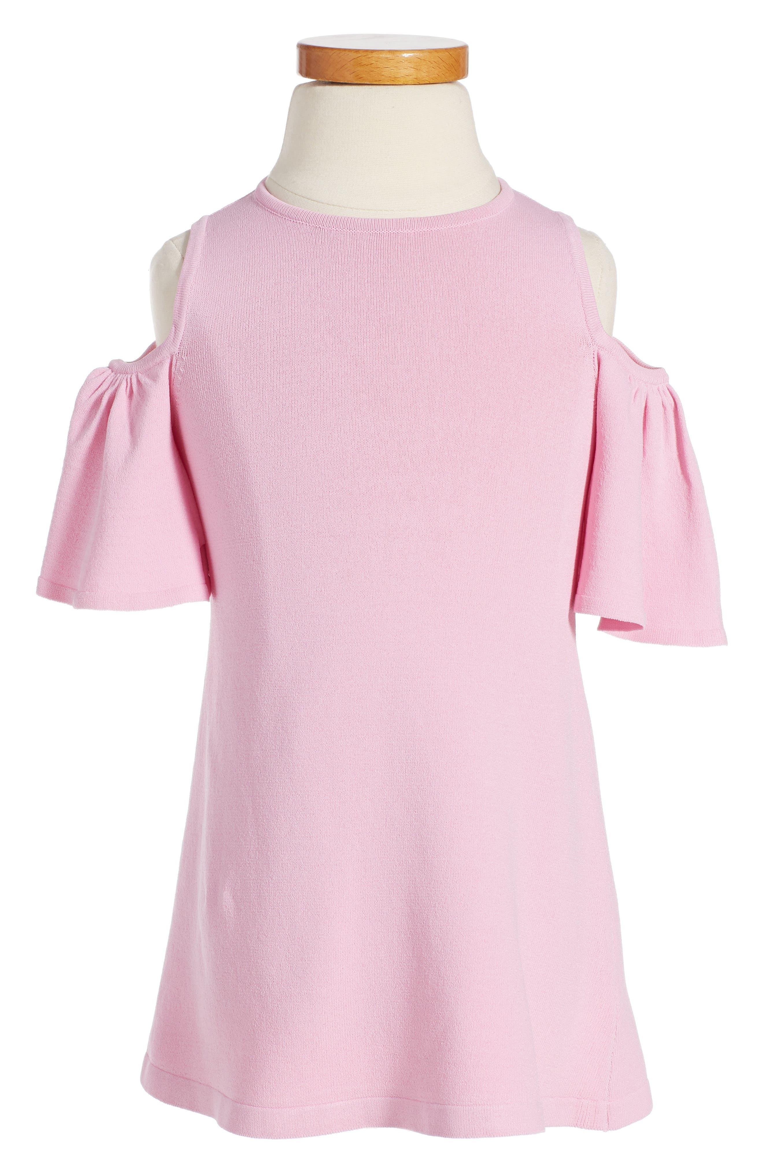 Milly Minis Cold Shoulder Dress (Toddler Girls, Little Girls & Big Girls)