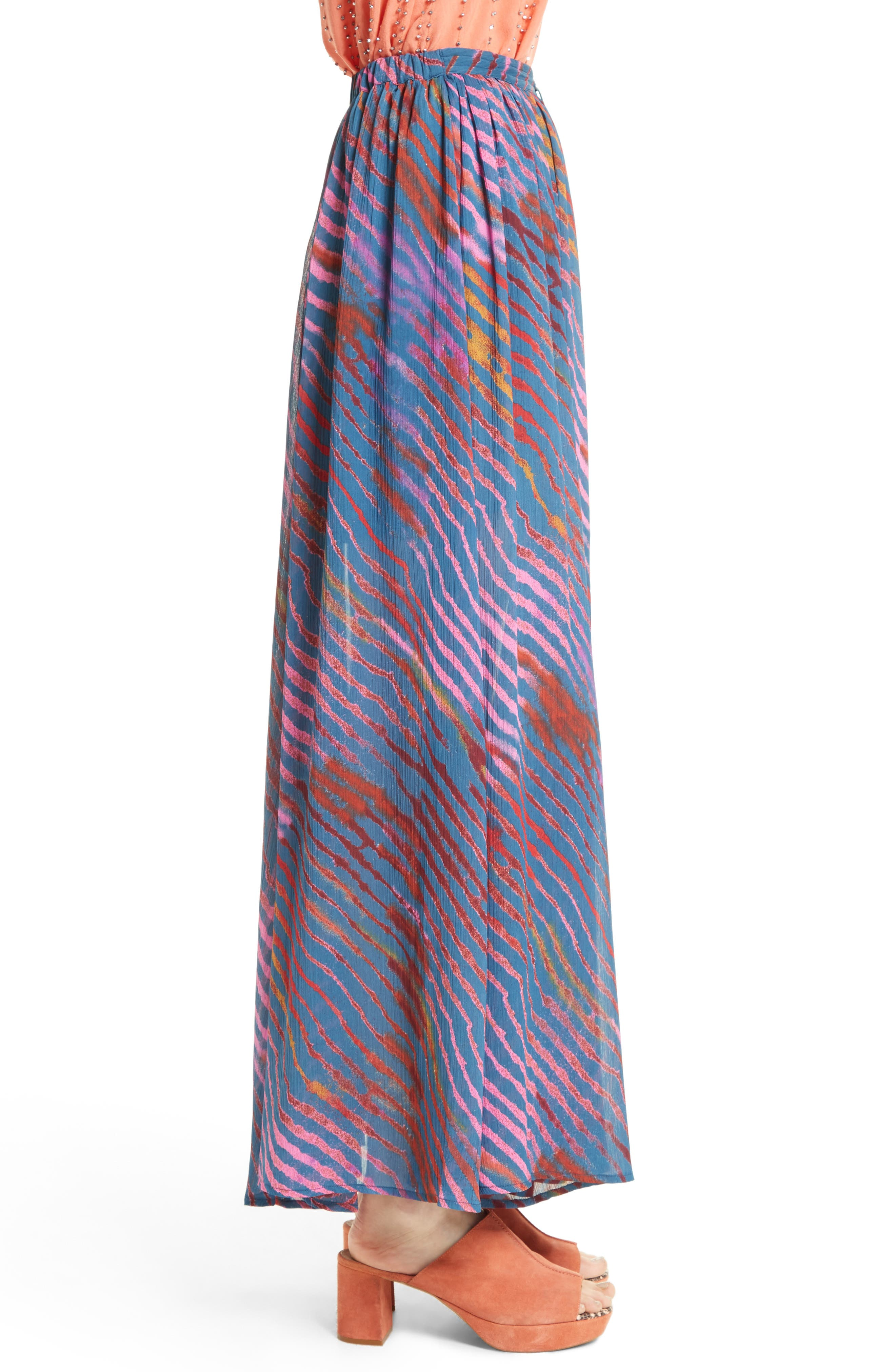Alternate Image 3  - Free People True To You Maxi Skirt