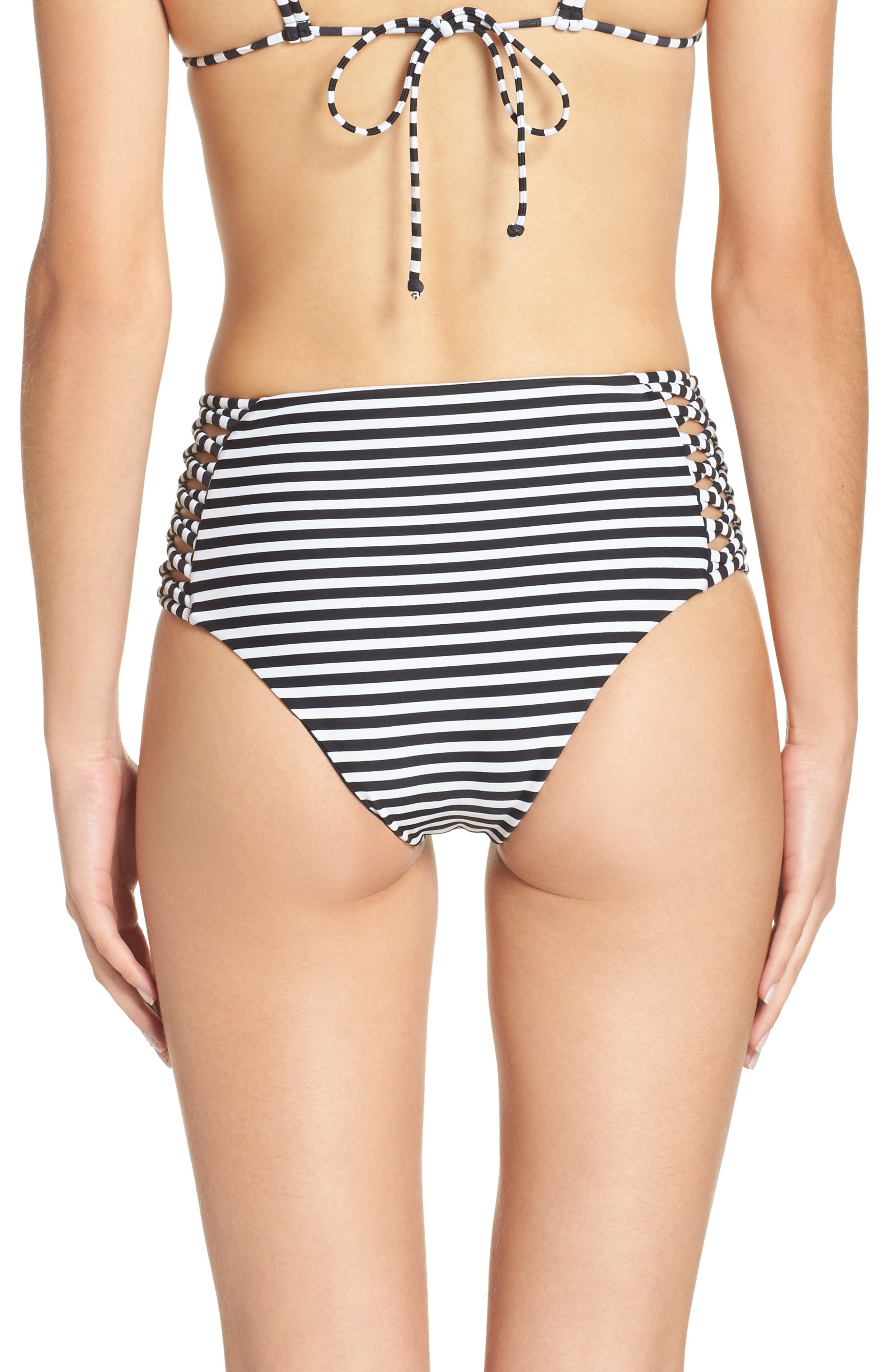 Alternate Image 2  - Byrds of Paradise Morrissey High Waist Bikini Bottoms
