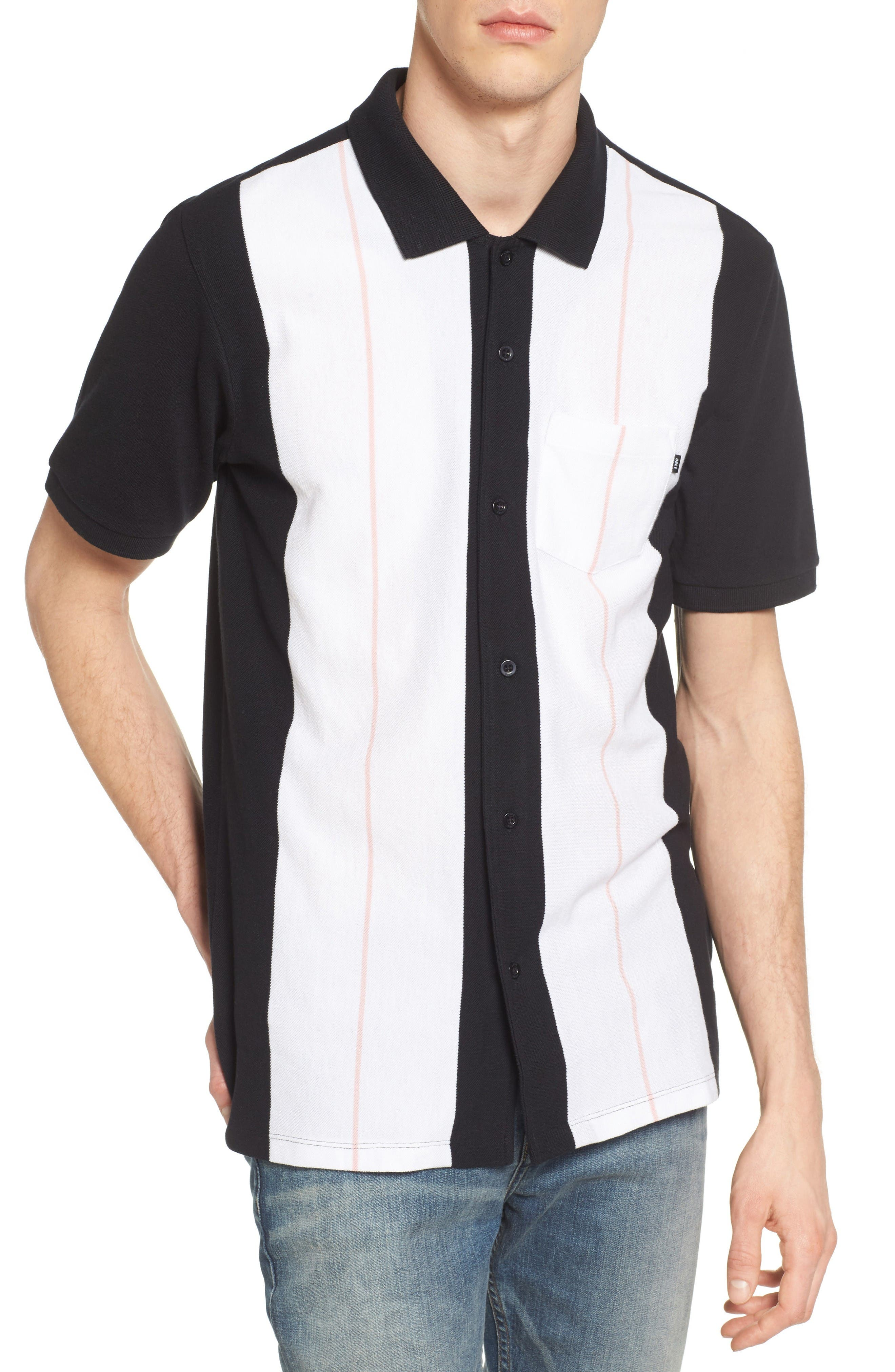 Obey Keystone Button-Front Polo