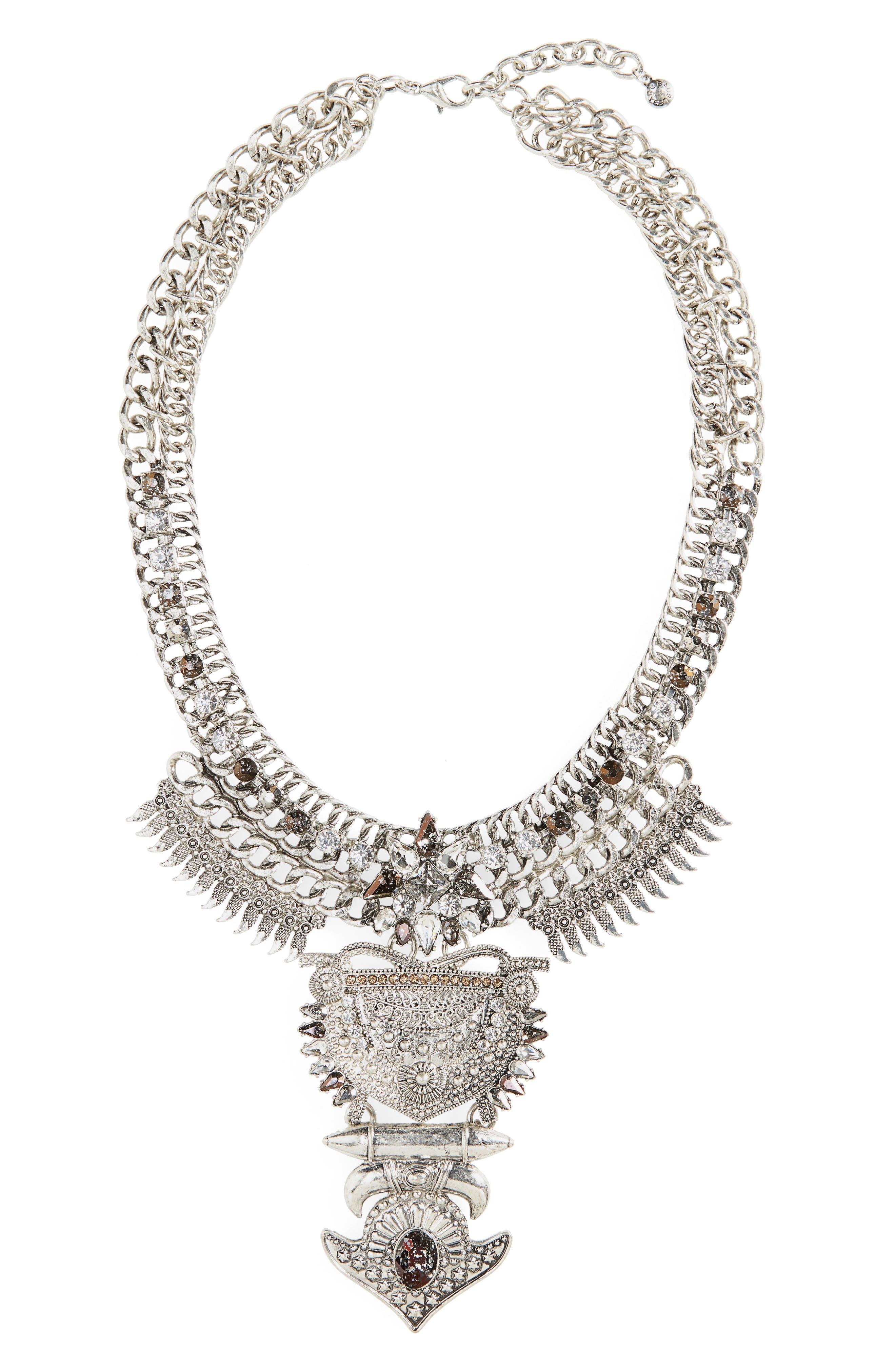 Main Image - BaubleBar Amazon Bib Necklace