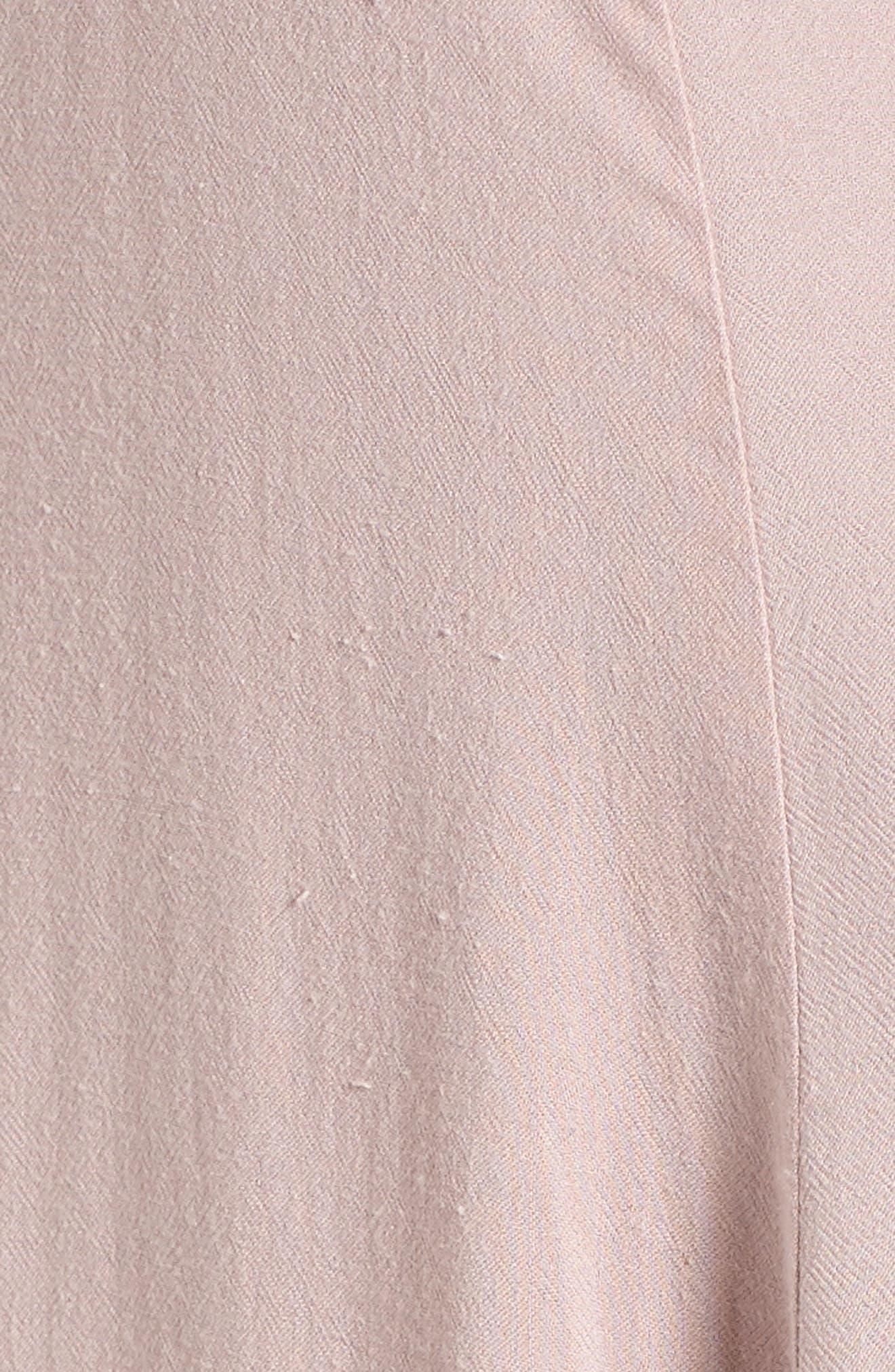 Alternate Image 5  - Lush Open Back Woven Maxi Dress
