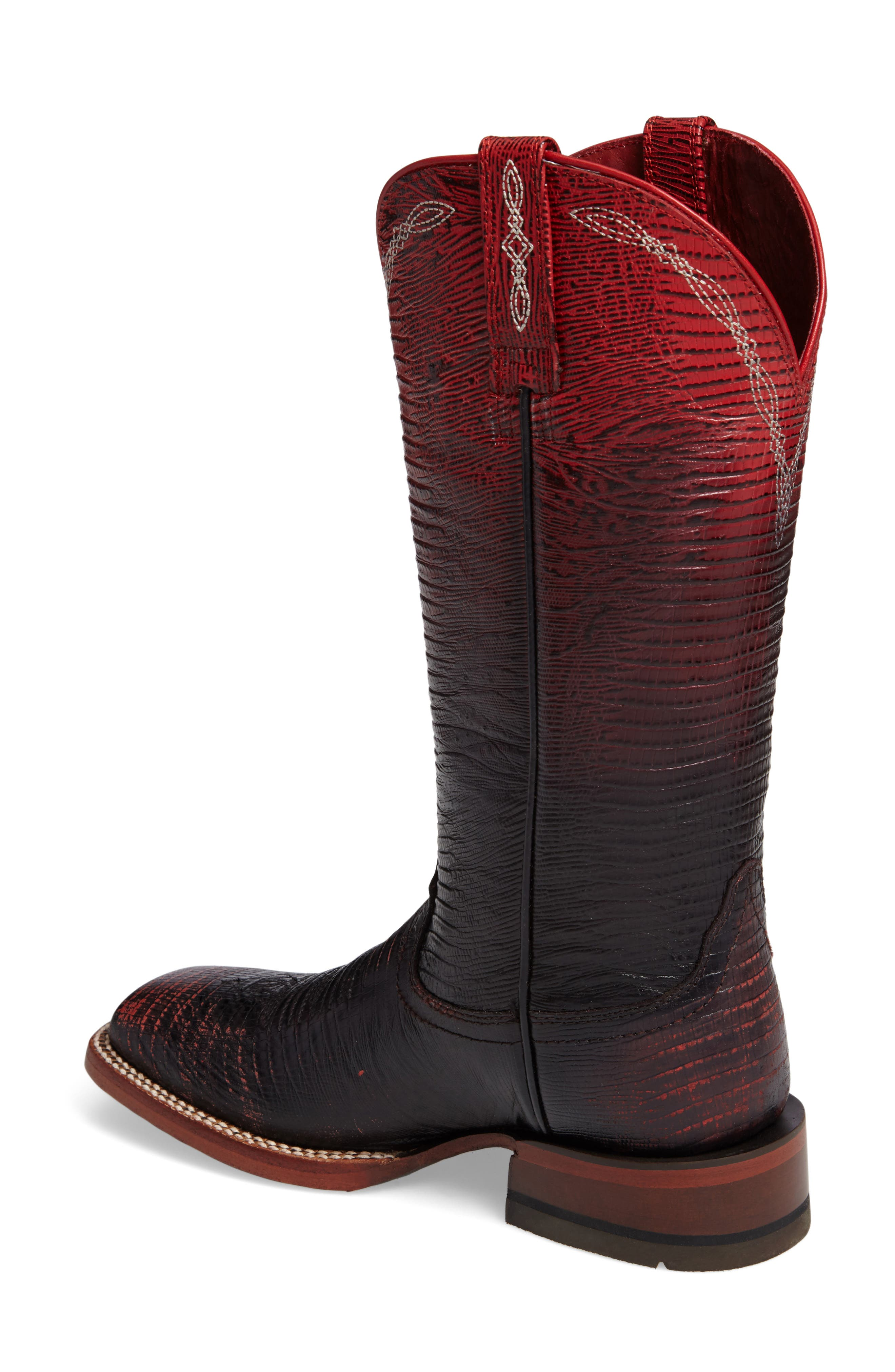 Alternate Image 2  - Ariat Ombré Square Toe Western Boot (Women)