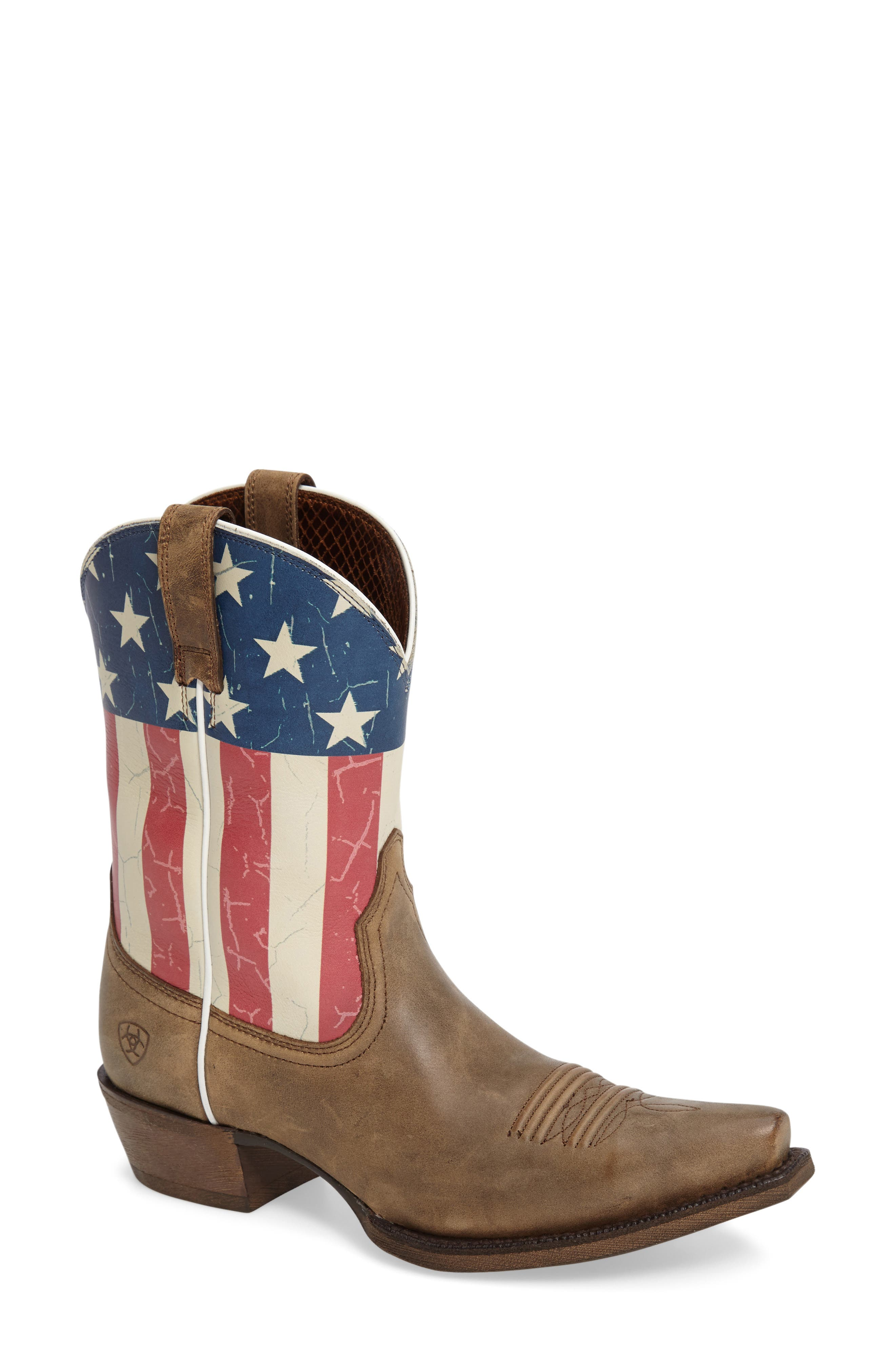 Alternate Image 1 Selected - Ariat Old Glory Western Boot (Women)