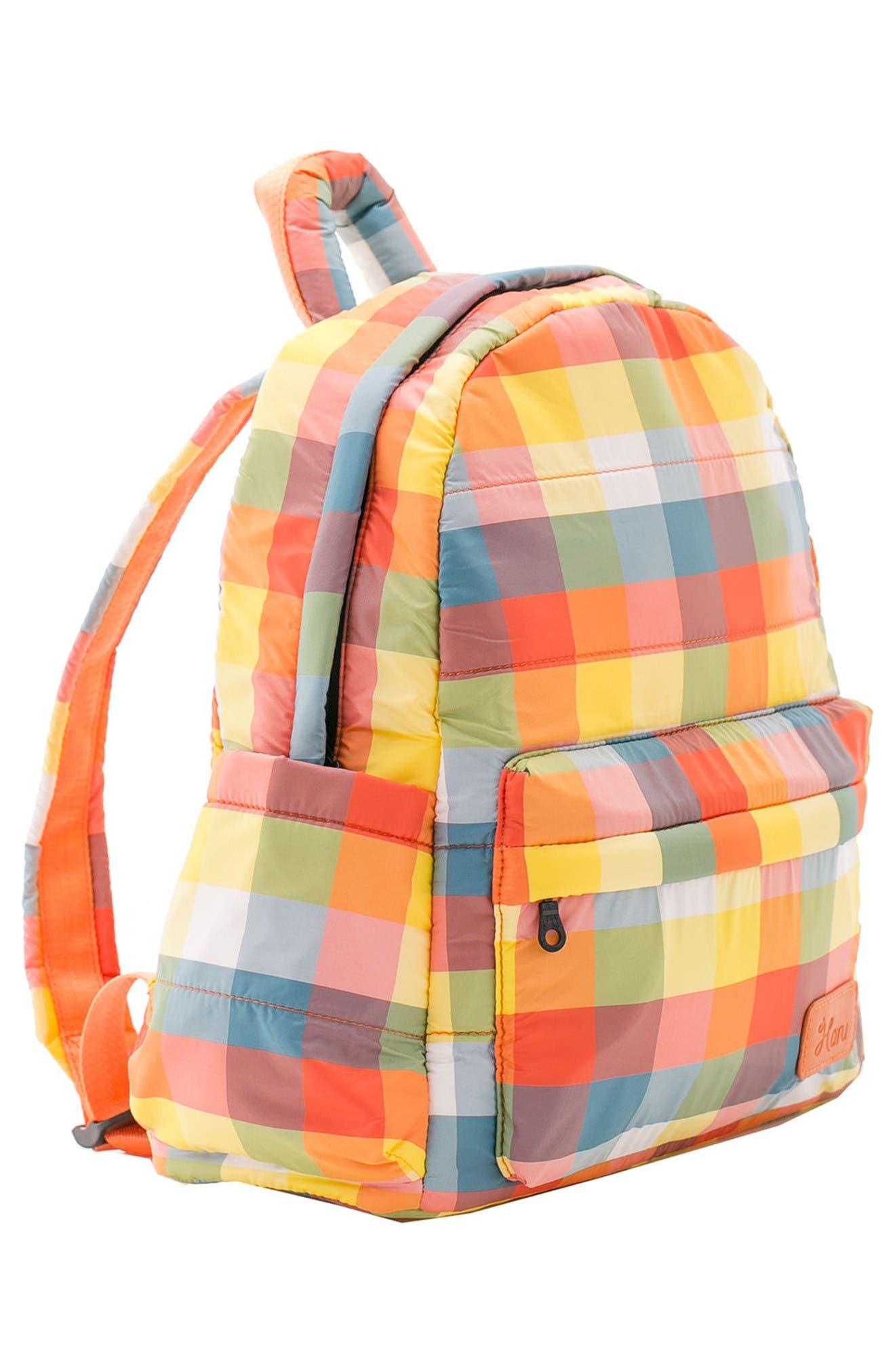 Alternate Image 5  - HARU Print Water Repellent Diaper Backpack