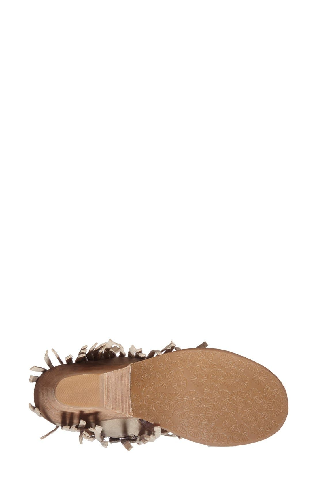 Alternate Image 4  - Koolaburra 'Piaz II' Fringed Boot Cuff Sandal