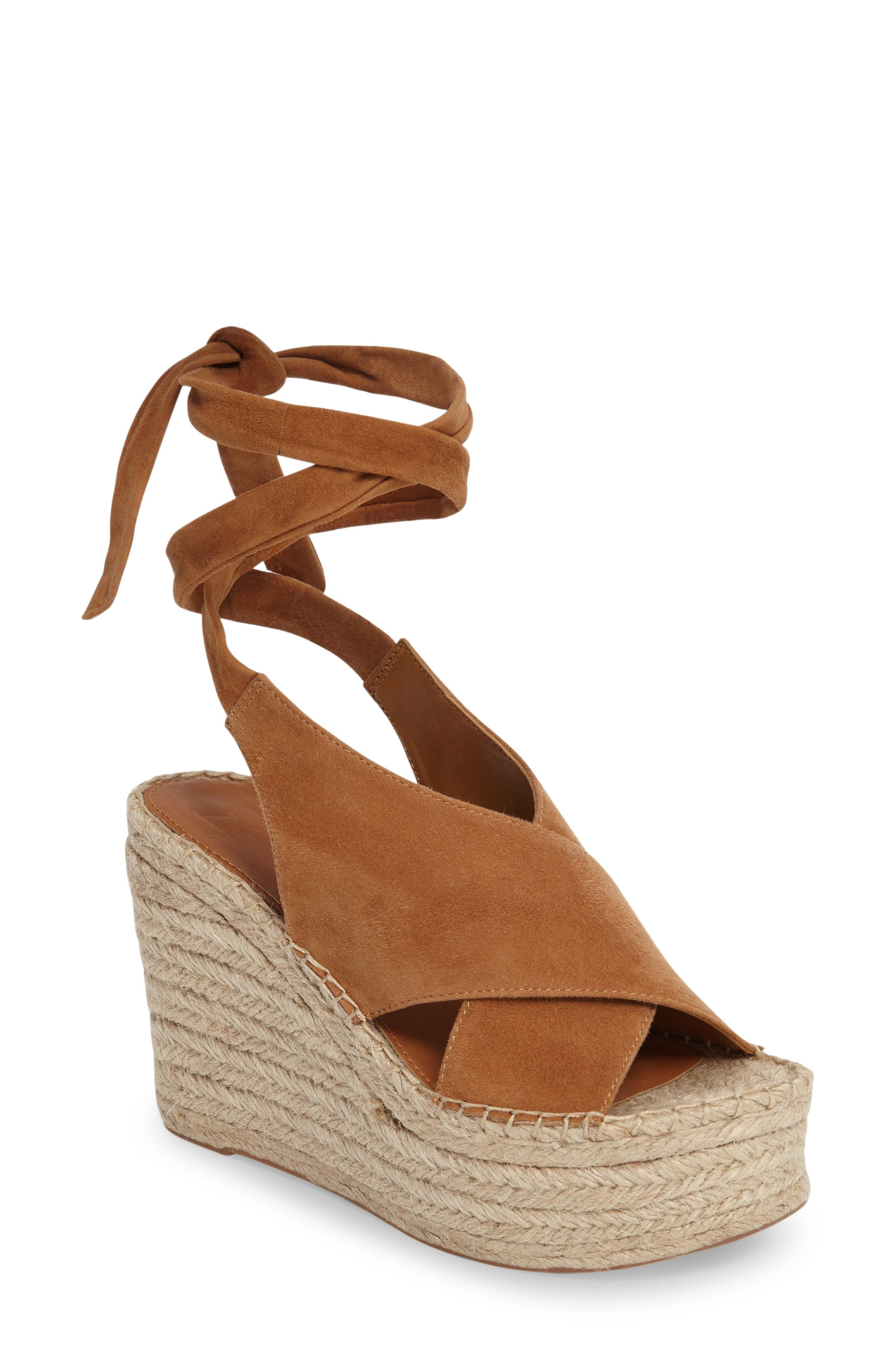 Alternate Image 1 Selected - Marc Fisher LTD Andira Platform Wedge Sandal (Women)
