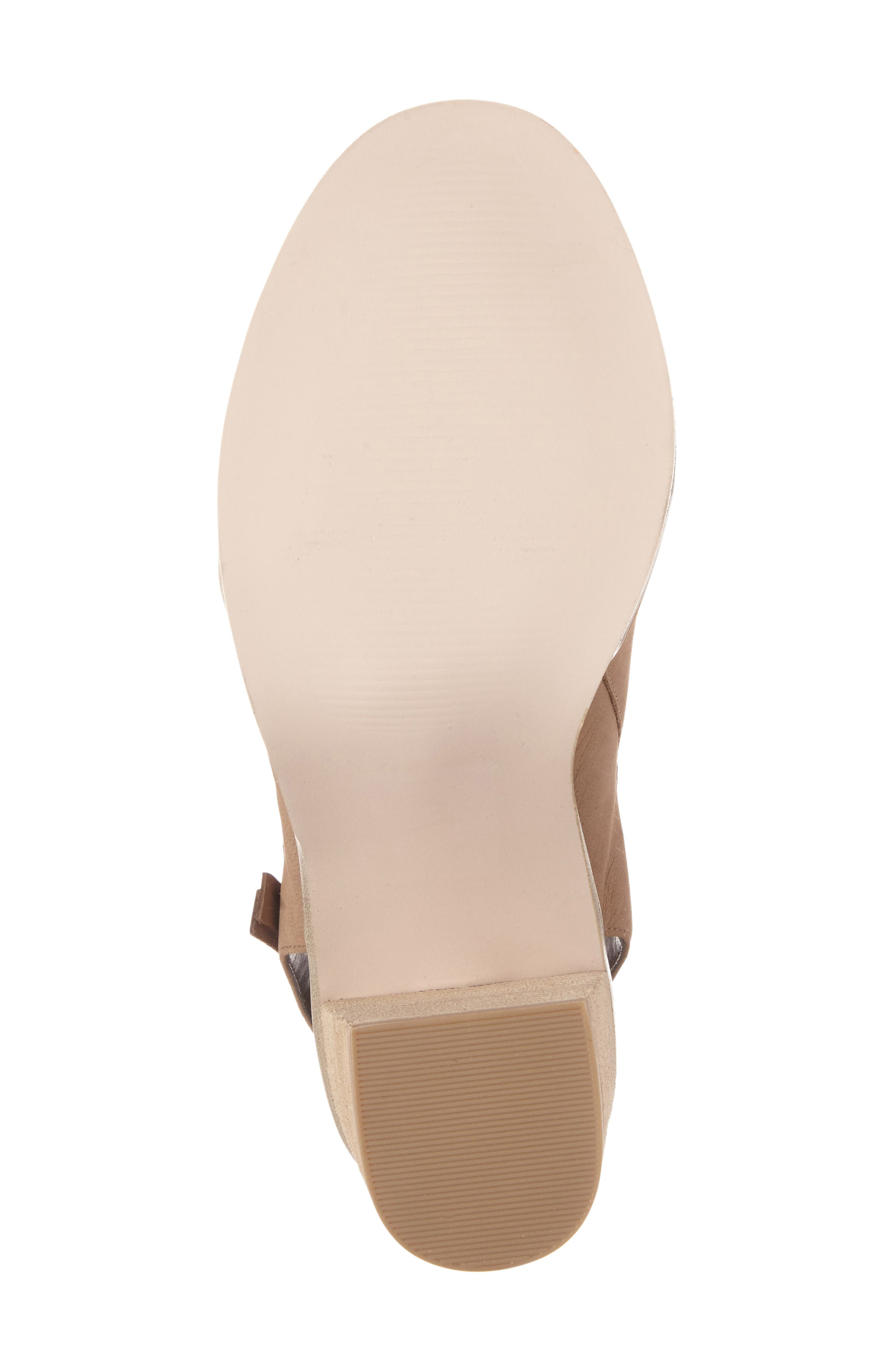 Alternate Image 4  - Sole Society Arizona Block Heel Peep-Toe Bootie (Women)
