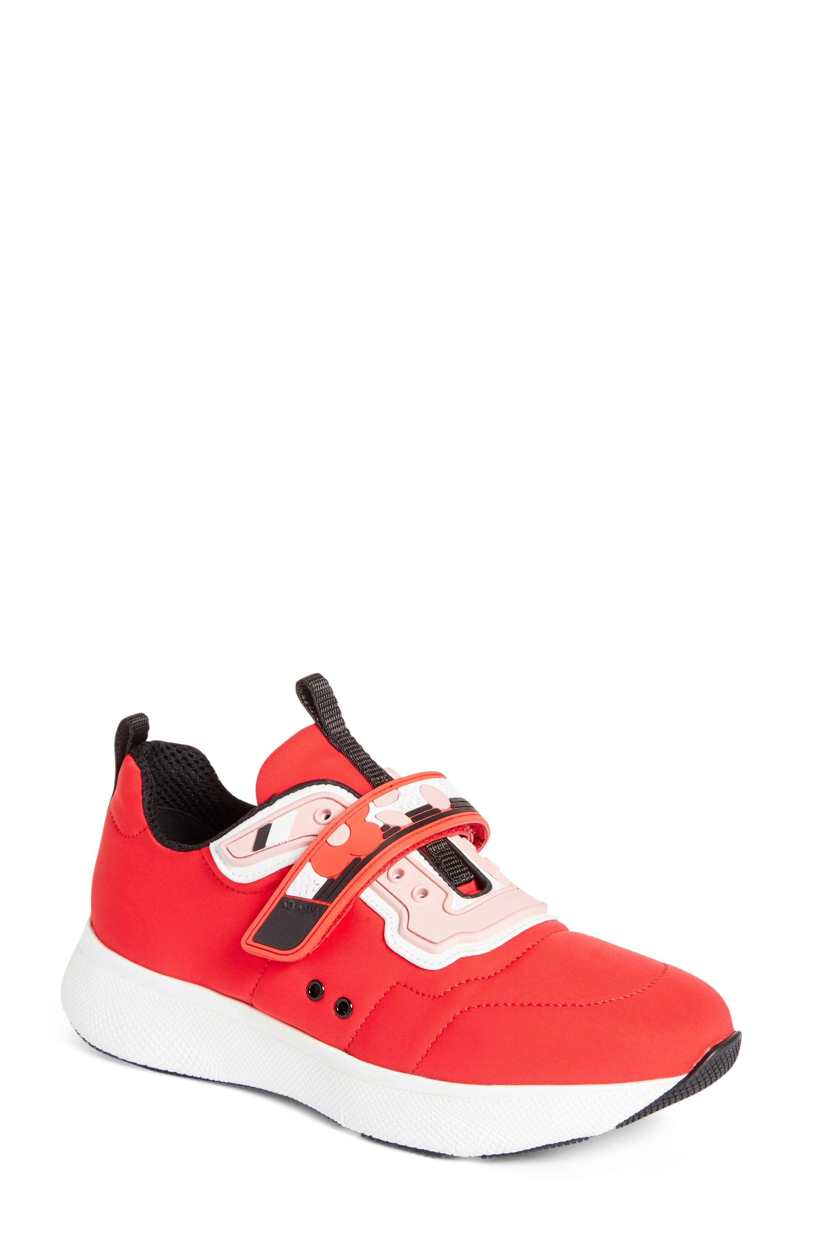 Prada Linea Rossa Runner Sneaker (Women)
