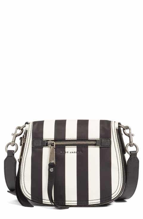 MARC JACOBS Trooper - Stripes Small Nylon Crossbody Bag