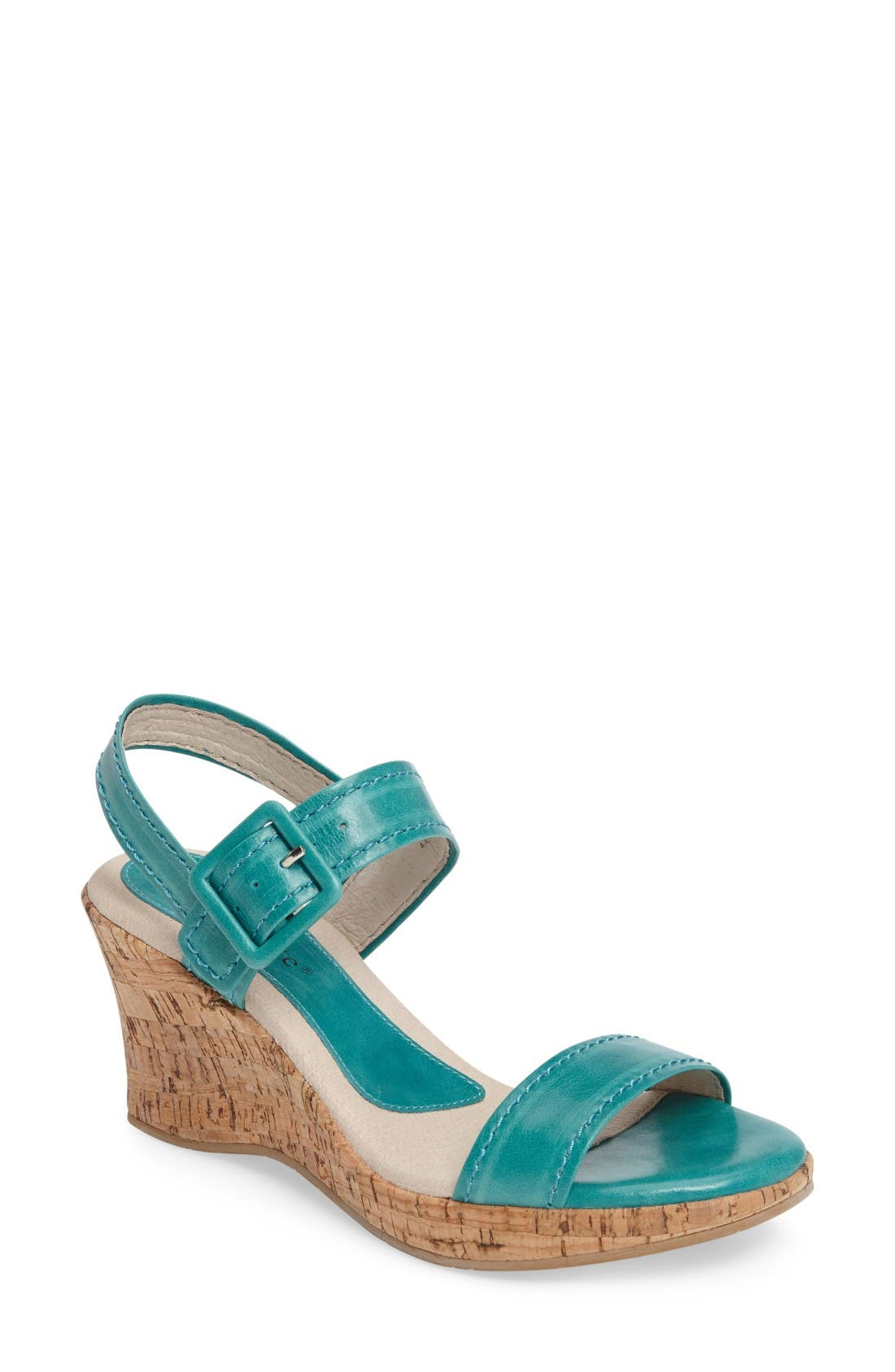 David Tate Newport Wedge Sandal (Women)