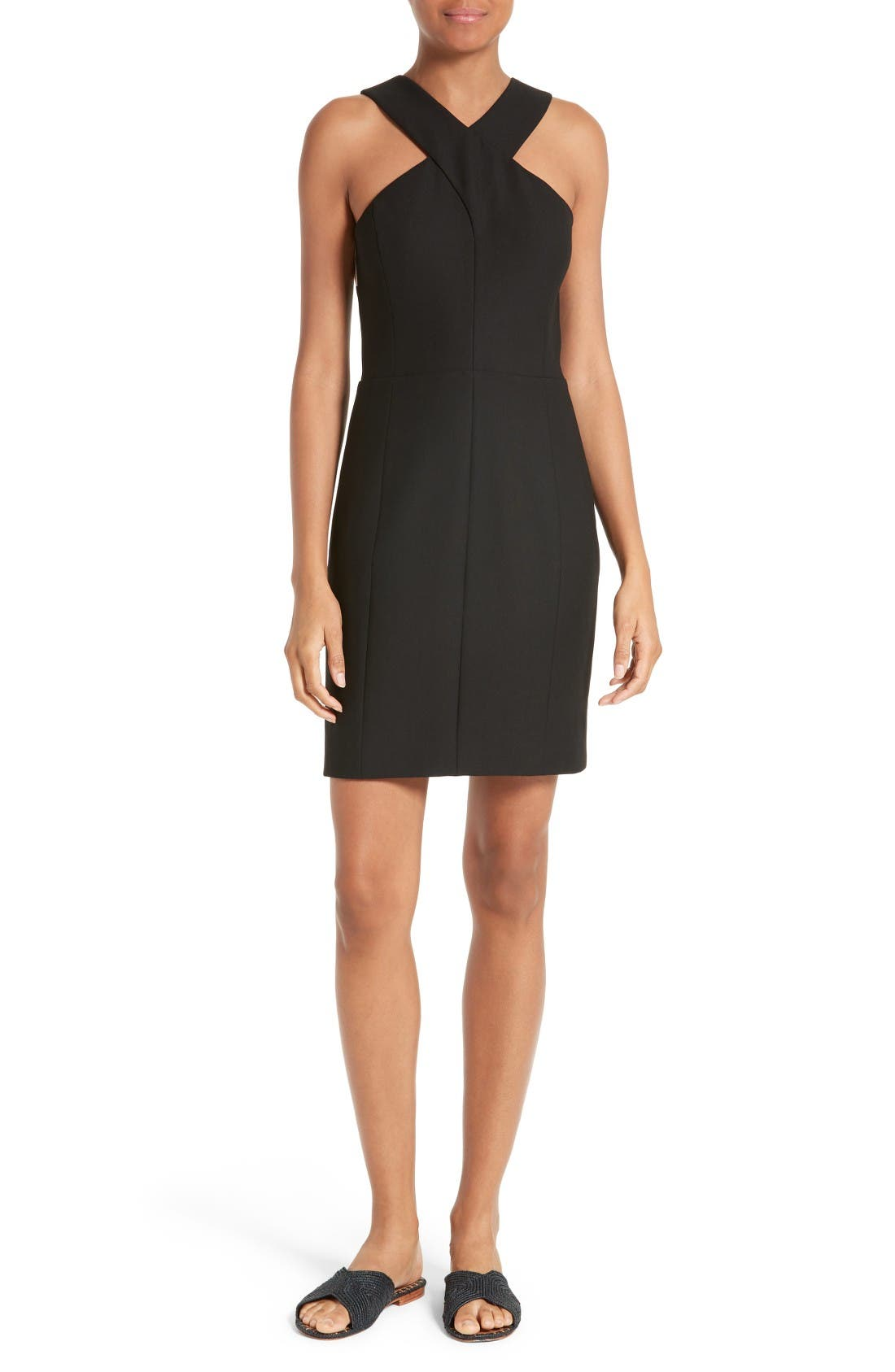 Elizabeth and James Elliot Cross Front Strap Dress